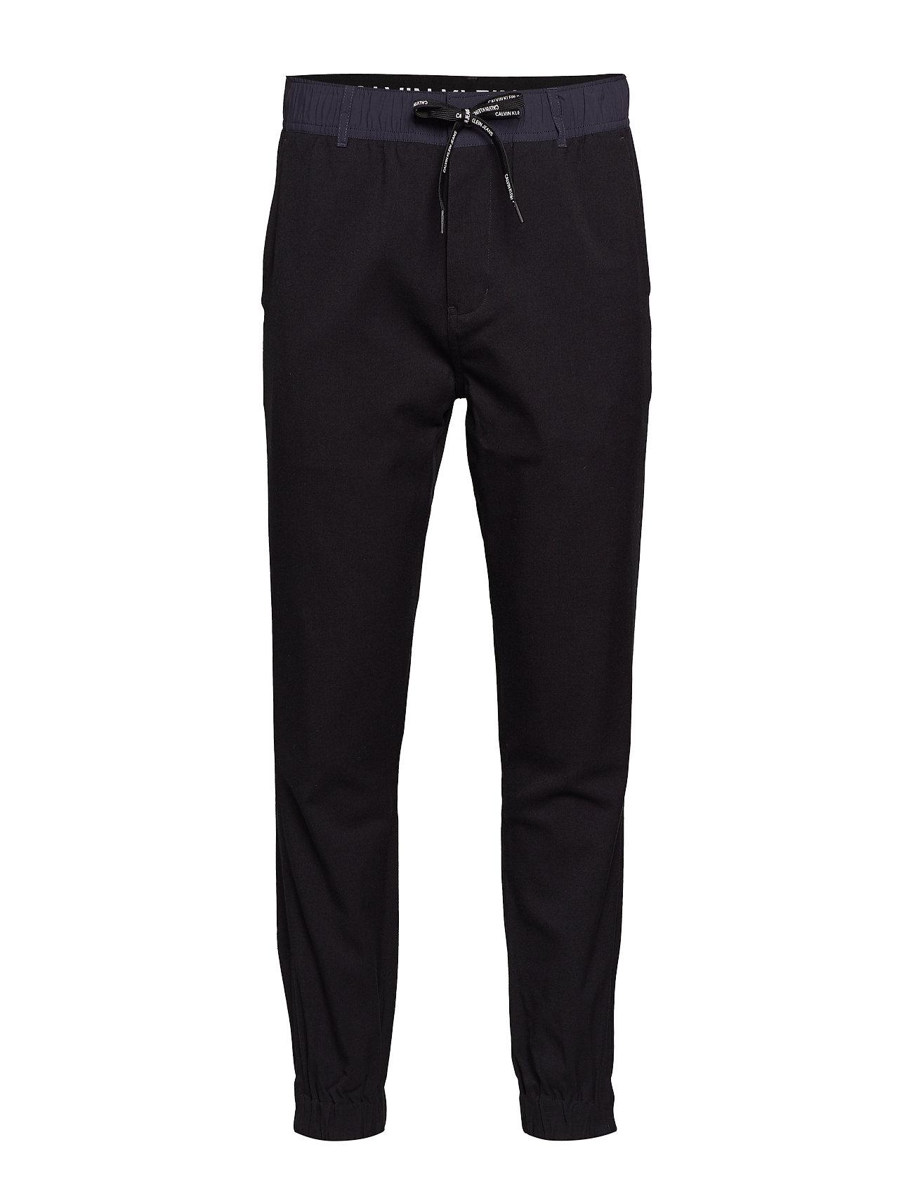 Calvin Klein Jeans MIX MEDIA WOOL NYLON - CK BLACK