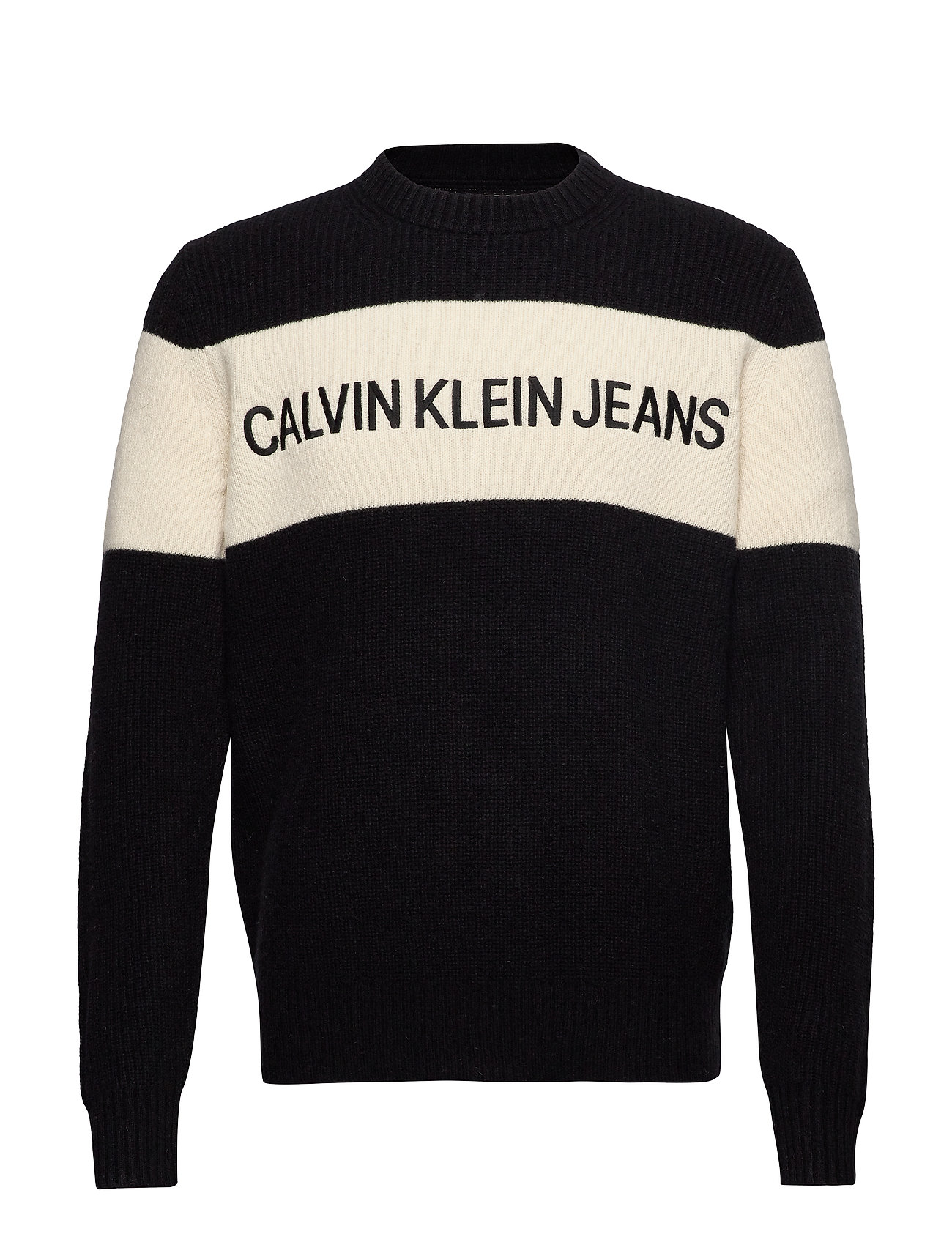 Calvin Klein Jeans COLOUR BLOCK STRIPE - CK BLACK