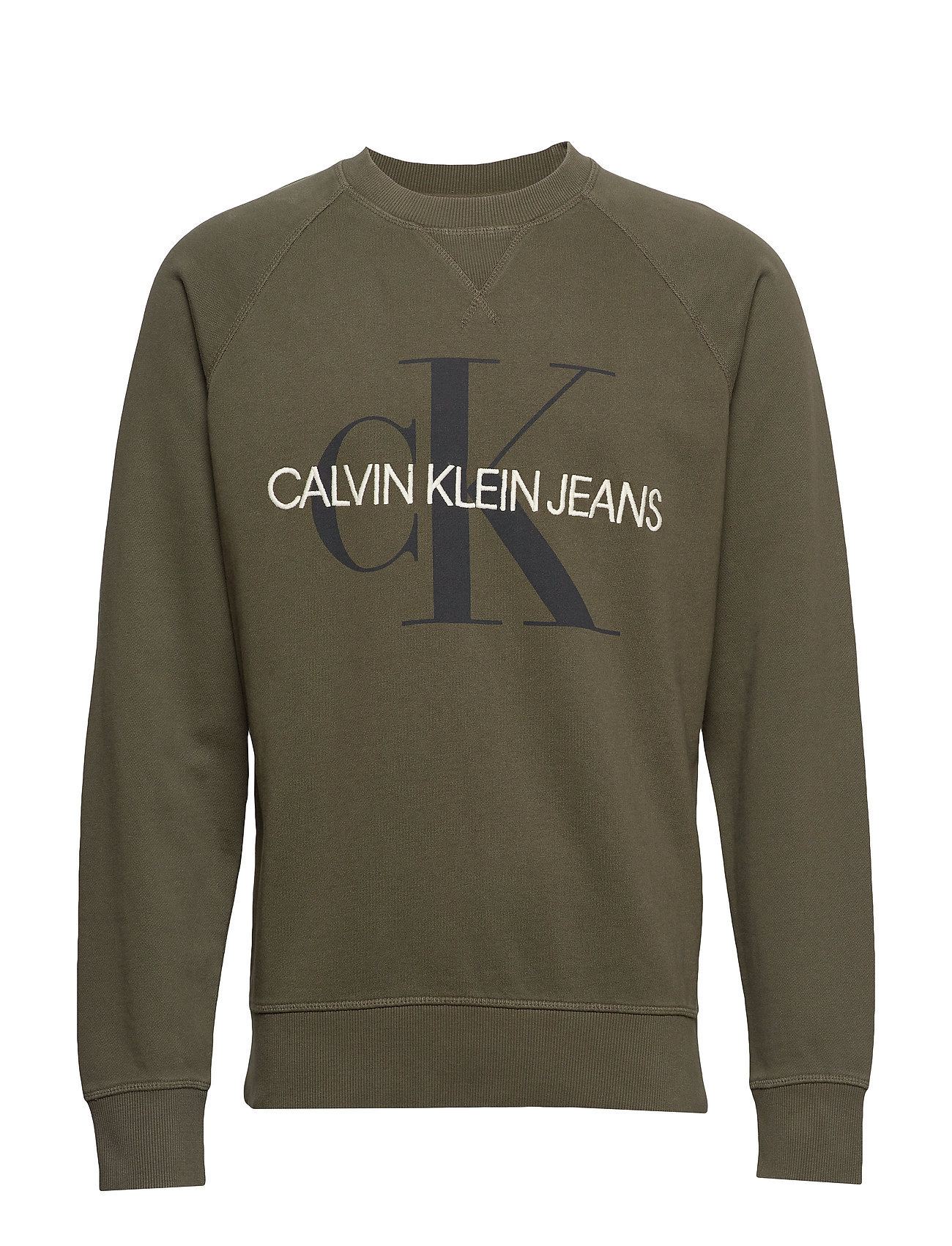 Calvin Klein Jeans WASHED REG MONOGRAM - GRAPE LEAF