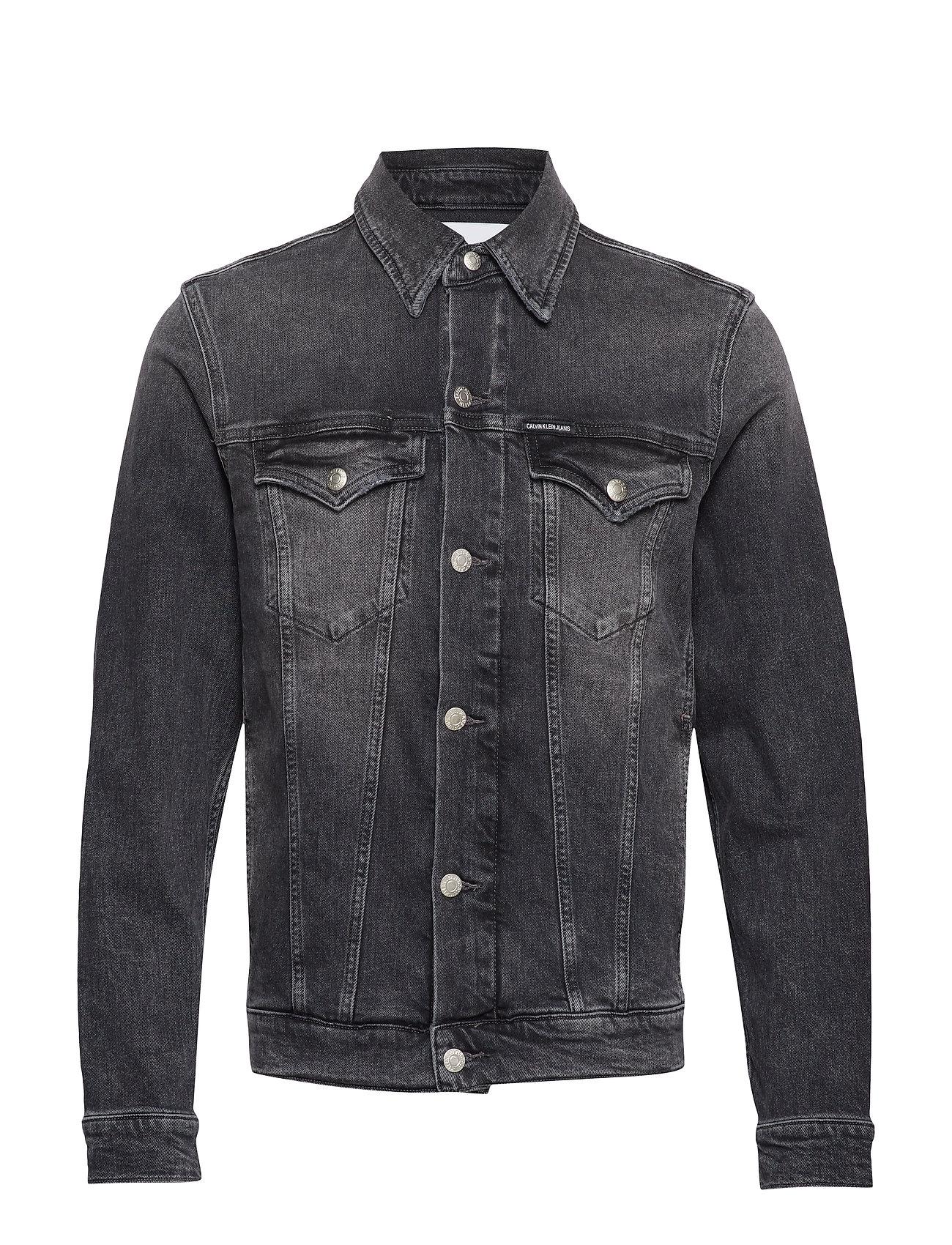 Calvin Klein Jeans FOUNDATION SLIM DENI - BA083 GREY