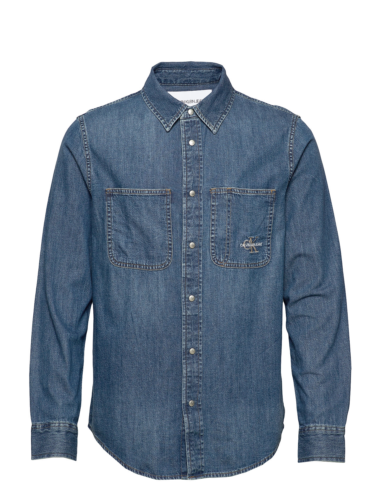 Calvin Klein Jeans ICONIC SHIRT - CA051 BRIGHT BLUE