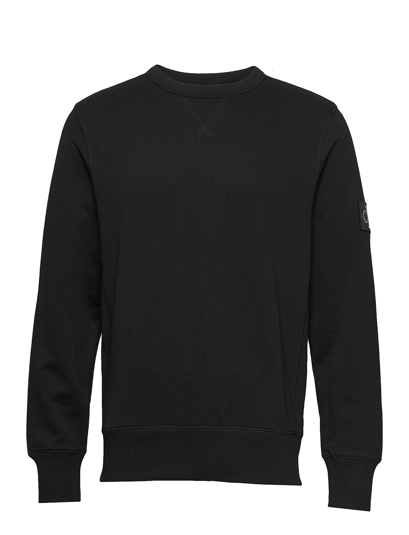 Calvin Klein Jeans MONOGRAM SLEEVE BADGE CN - CK BLACK