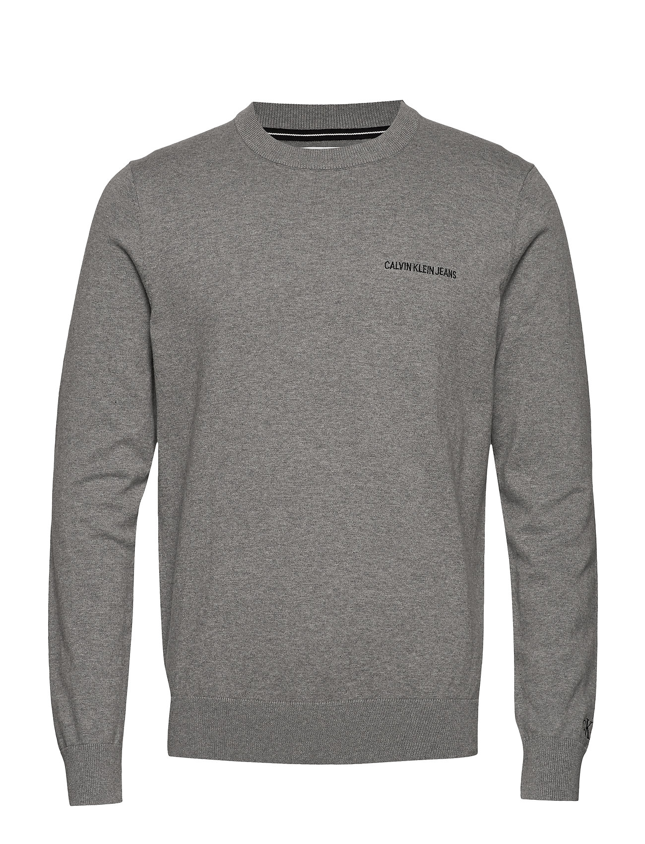 Logo Sweatshirt, Mid Grey Heather