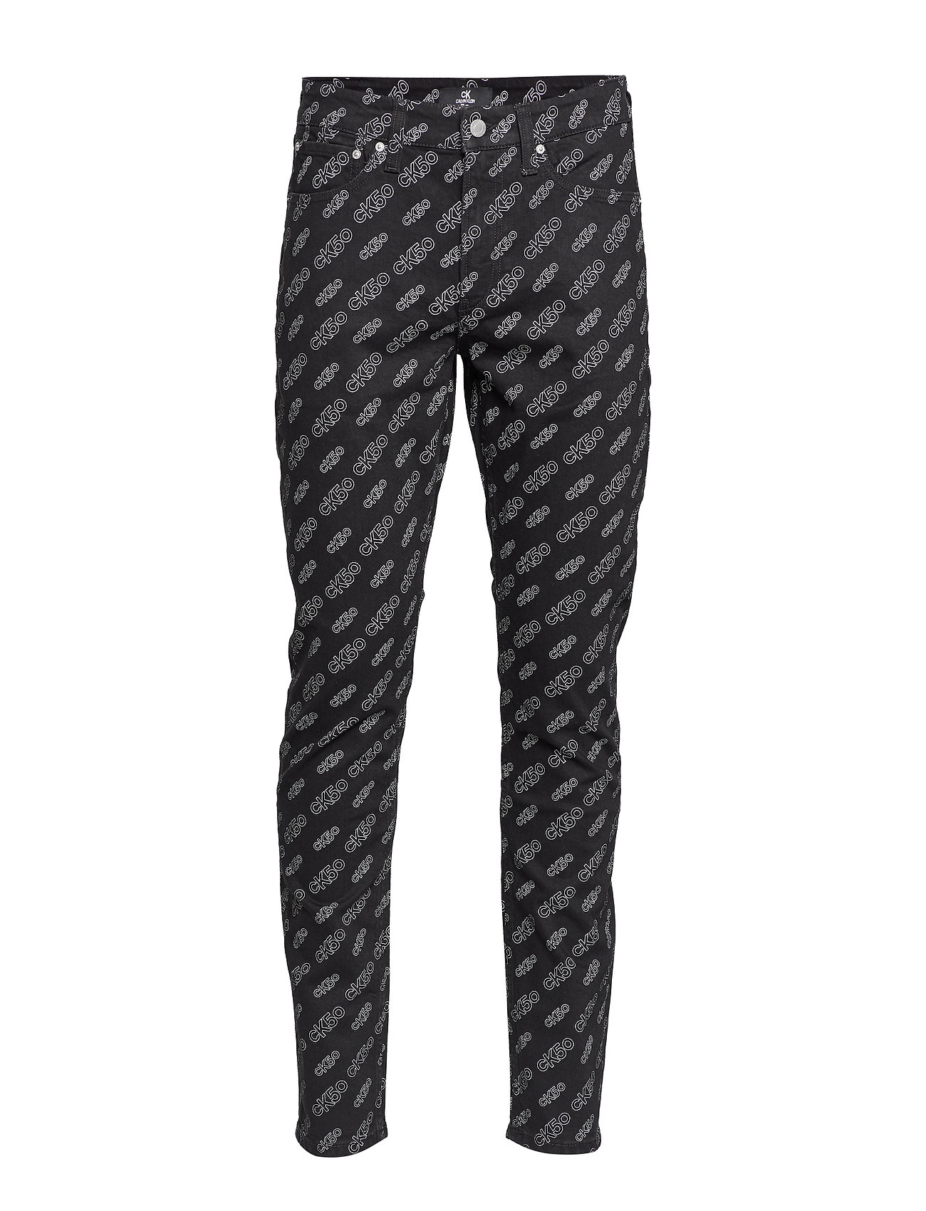 Calvin Klein Jeans CKJ 058 SLIM TAPER - BA300 BLACK AOP