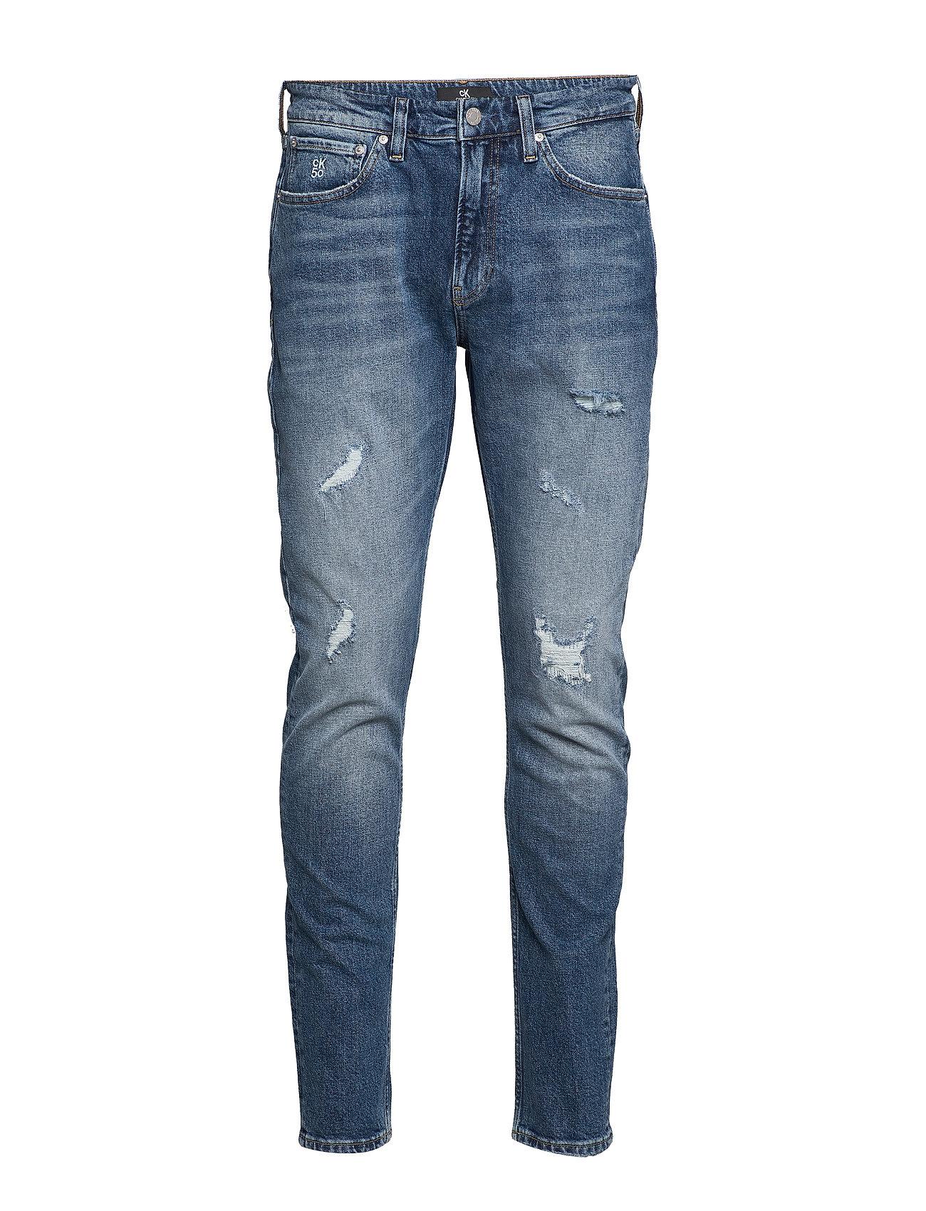 Calvin Klein Jeans CKJ 058 SLIM TAPER - BA303 BRIGHT BLUE DSTR