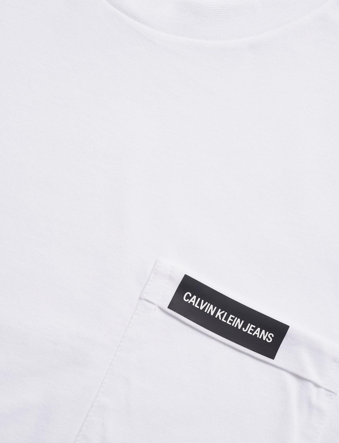 Institutional Pocket Tee (Bright White) (400 kr) - Calvin Klein Jeans