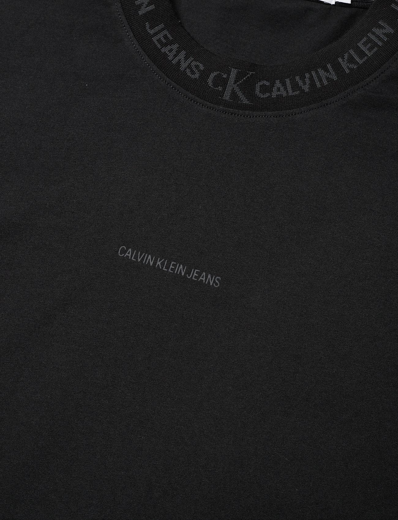 Calvin Klein Jeans - LOGO JACQUARD TEE - t-shirts basiques - ck black - 2