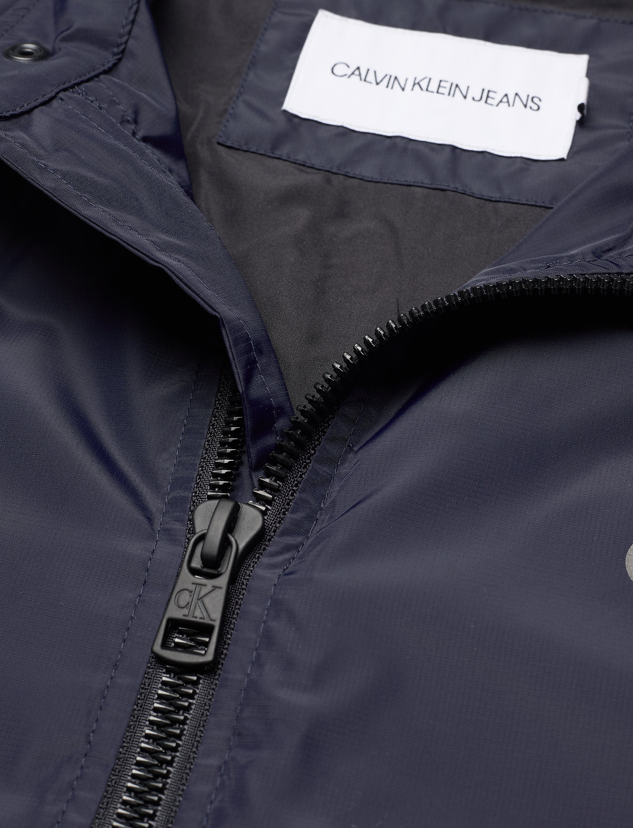 Calvin Klein Jeans - NYLON BIKER JACKET - vestes légères - night sky - 3