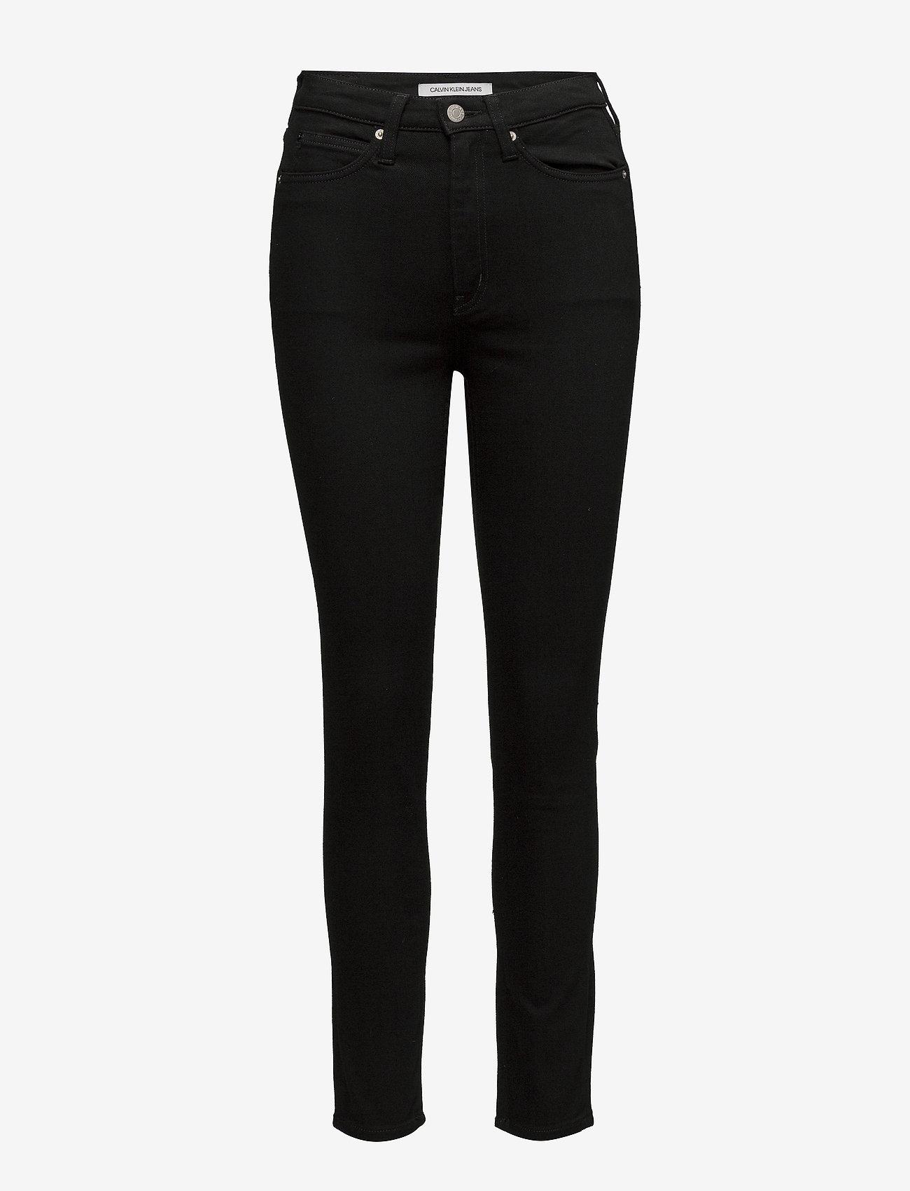 Calvin Klein Jeans - CKJ 010 HIGH RISE SK - skinny farkut - eternal black