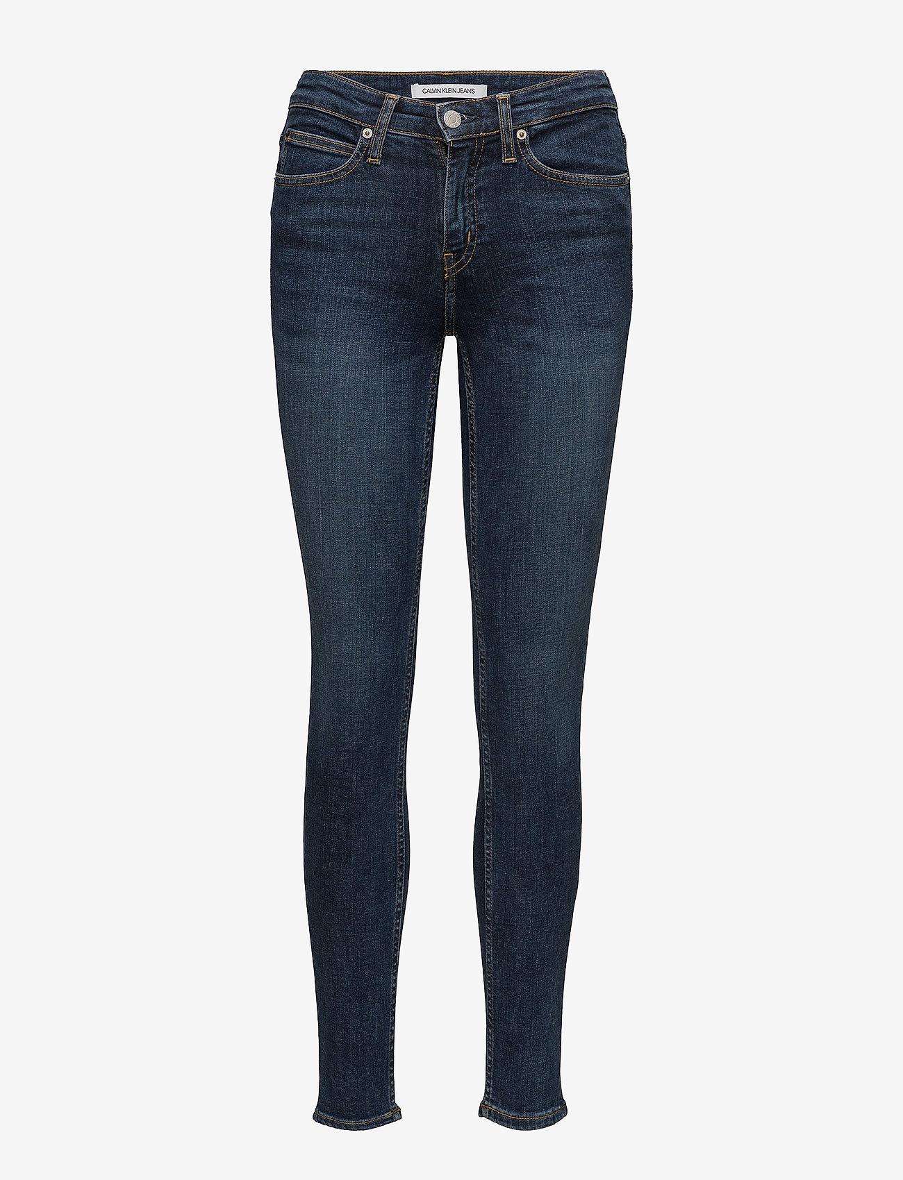 Calvin Klein Jeans - CKJ 011 MID RISE SKI - amsterdam blue mid