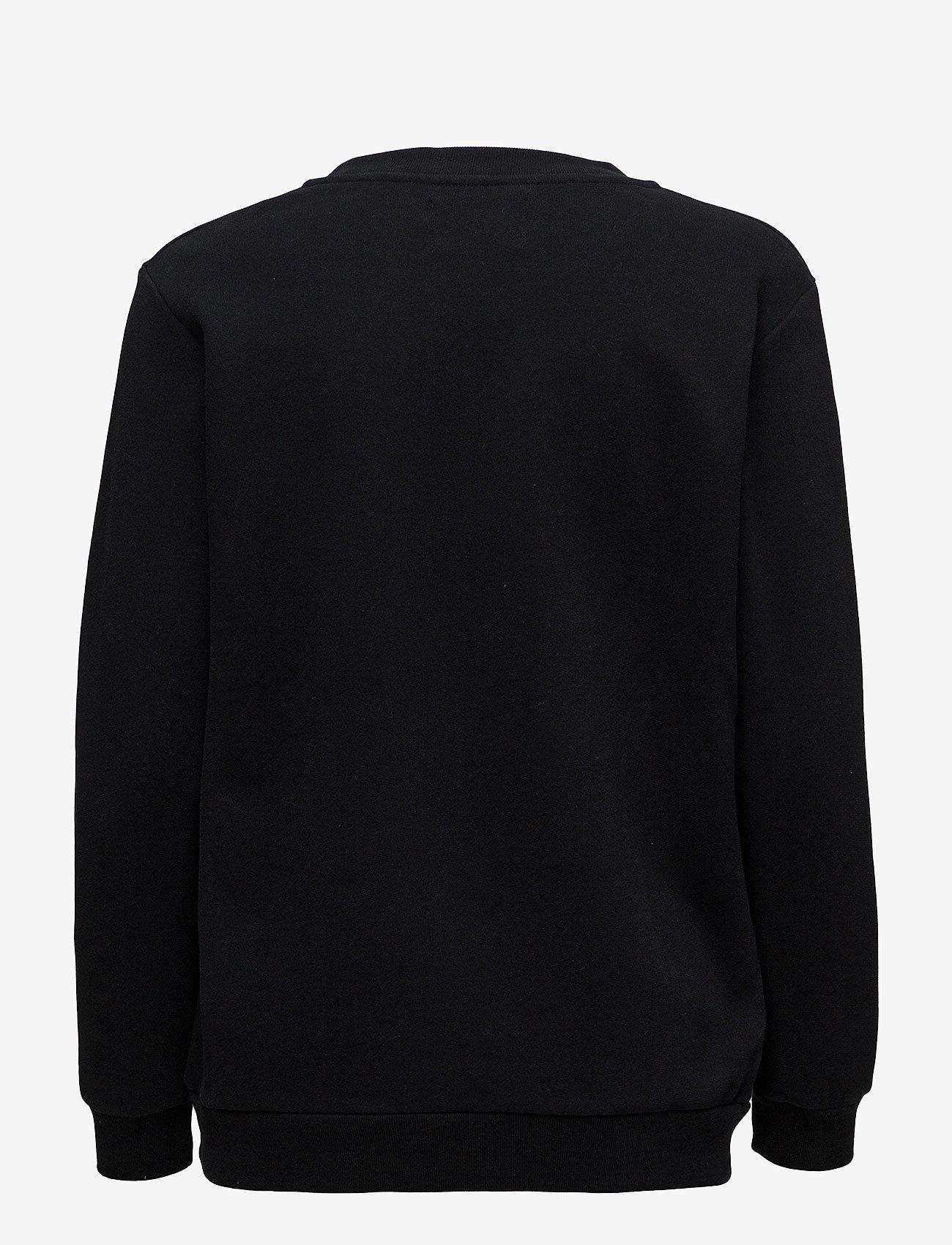Calvin Klein Jeans - CORE MONOGRAM LOGO SWEATSHIRT - sweatshirts - ck black - 1
