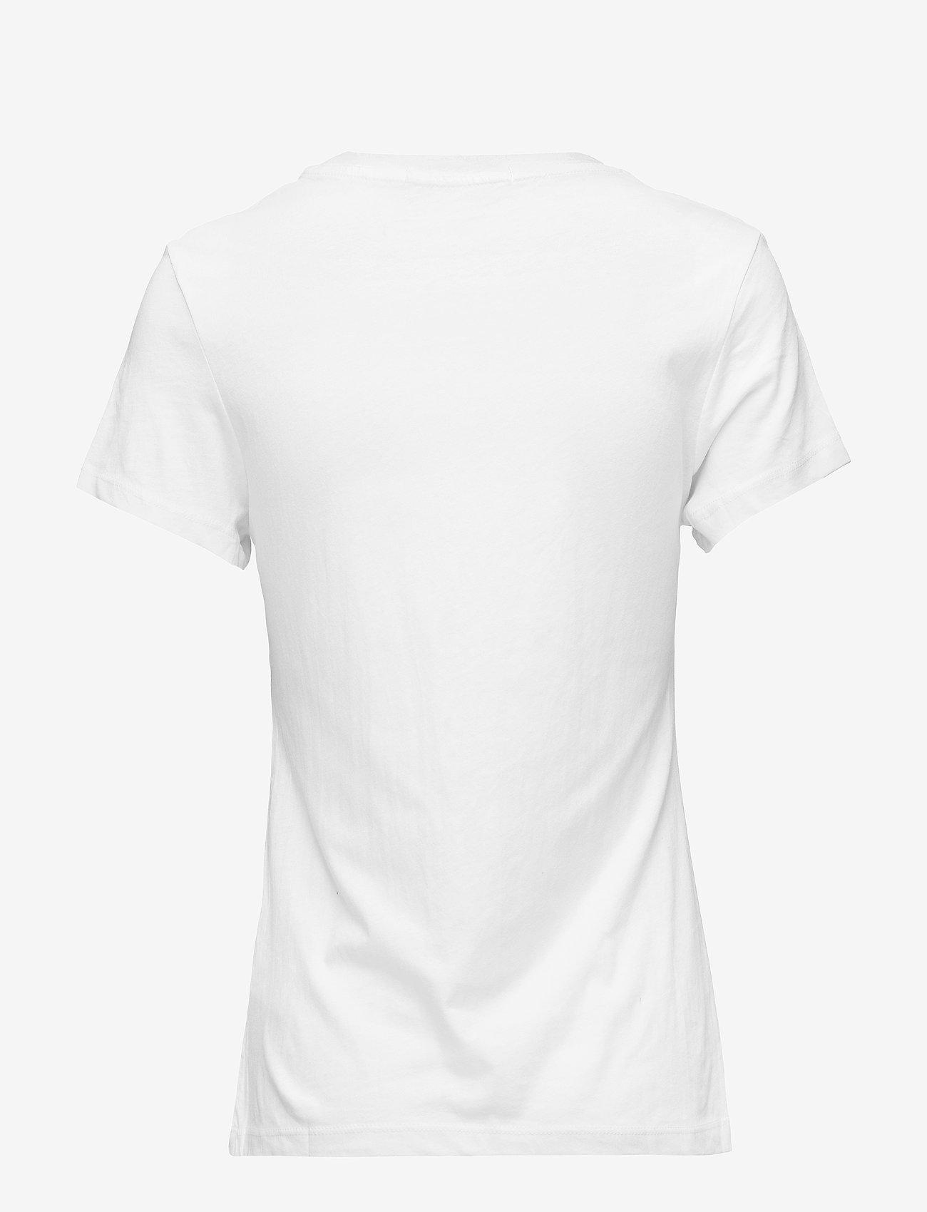 Calvin Klein Jeans - CORE INSTIT LOGO SLIM FIT TEE - t-shirts - bright white - 1