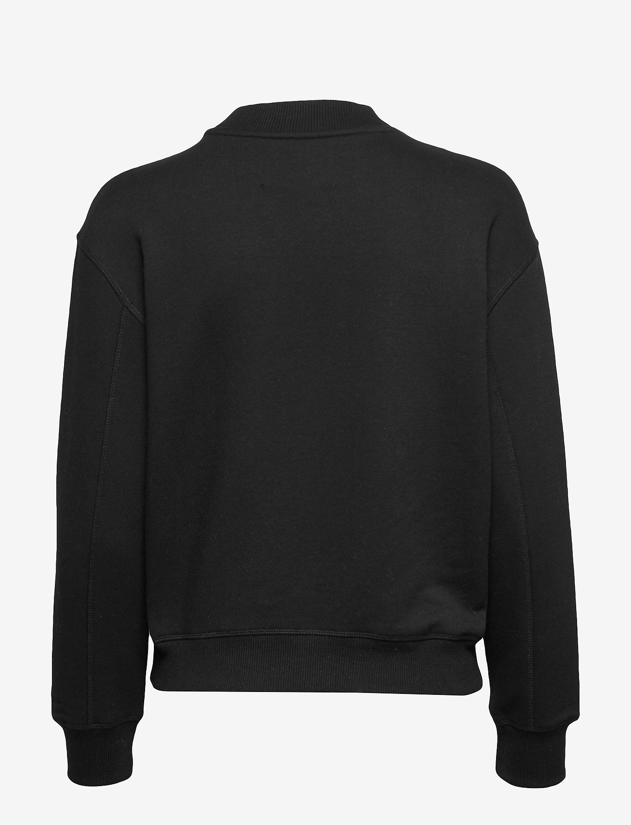 Calvin Klein Jeans - CK EMBROIDERY REGULAR CREW NECK - sweatshirts - ck black - 1