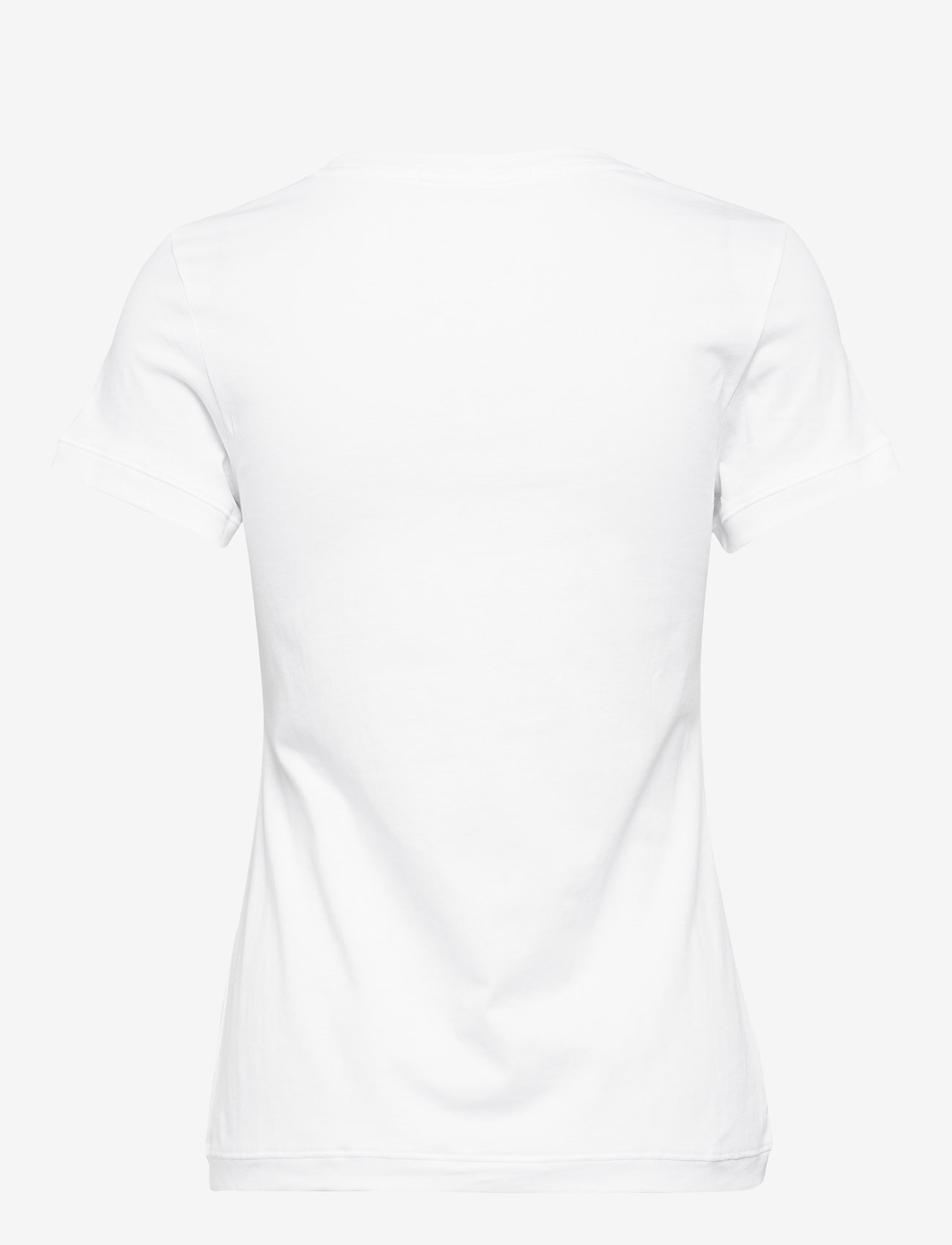 Calvin Klein Jeans - CK EMBROIDERY SLIM TEE - t-shirts - bright white - 1