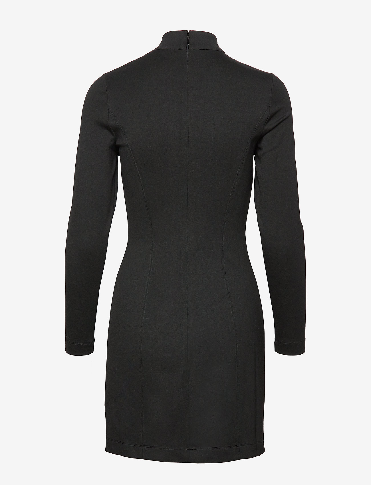 Calvin Klein Jeans - COATED MILANO DRESS - bodycon-kjoler - ck black - 1