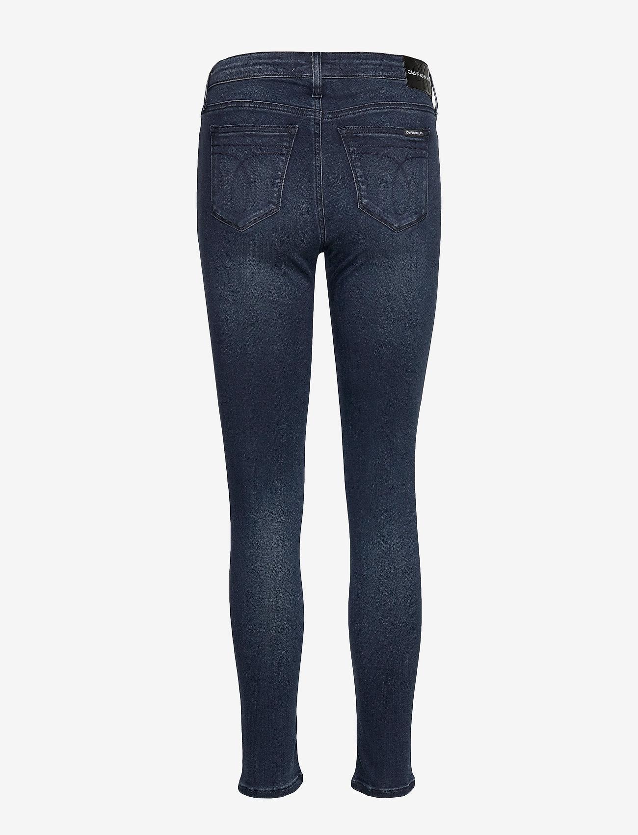 Ckj 001 Super Skinny (Ca033 Blue Black) - Calvin Klein Jeans Gy50kK