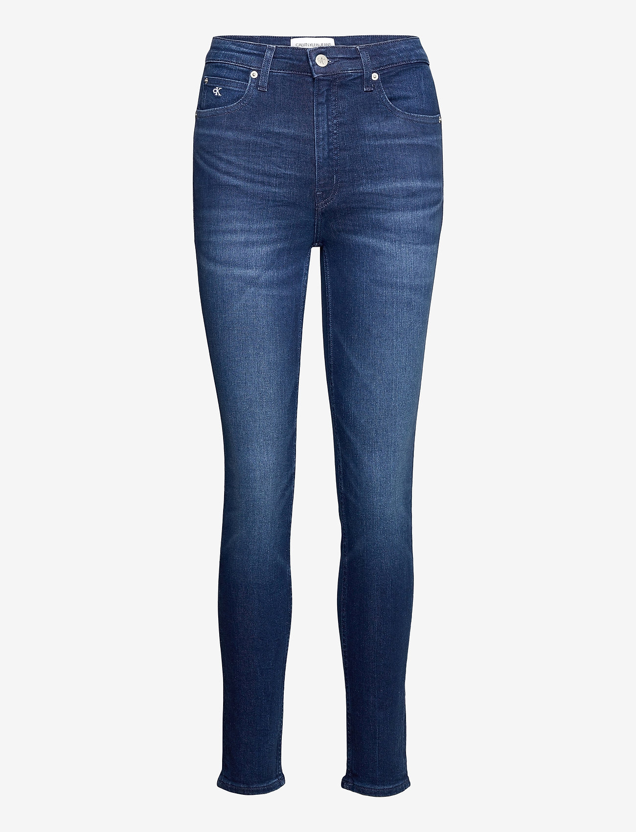 Calvin Klein Jeans - CKJ 010 HIGH RISE SKINNY - skinny jeans - ca060 mid blue - 0