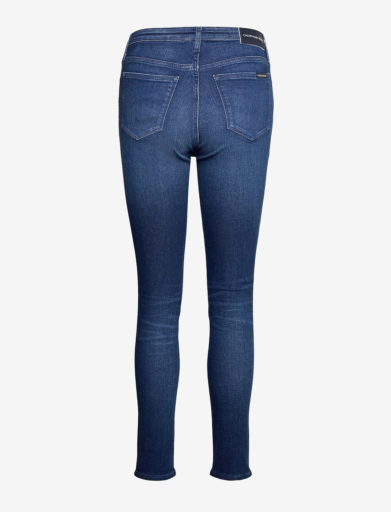 Calvin Klein Jeans - CKJ 010 HIGH RISE SKINNY - skinny jeans - ca060 mid blue - 1