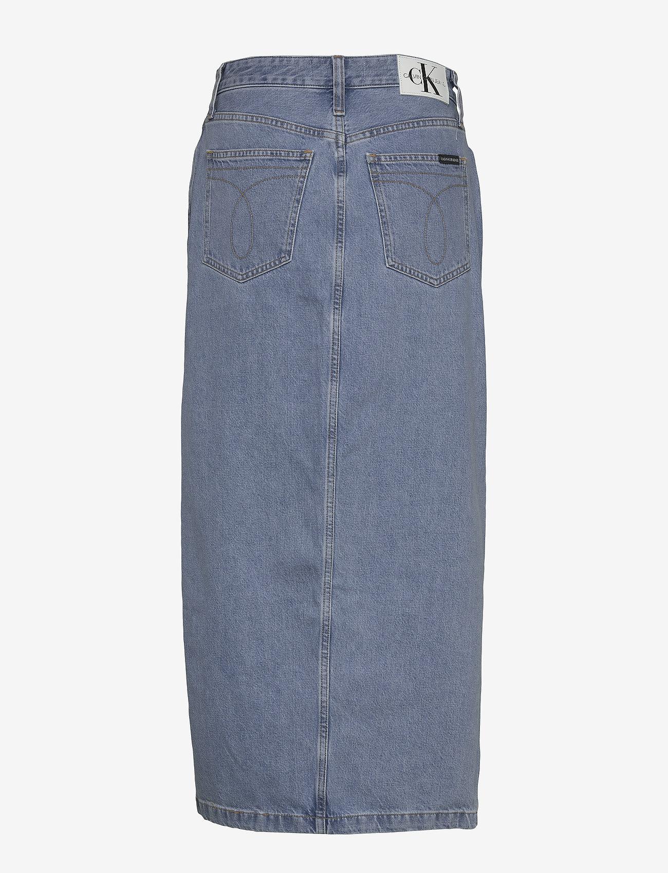 Maxi Skirt (Da087 Icn Light Blue) (660 kr) - Calvin Klein Jeans