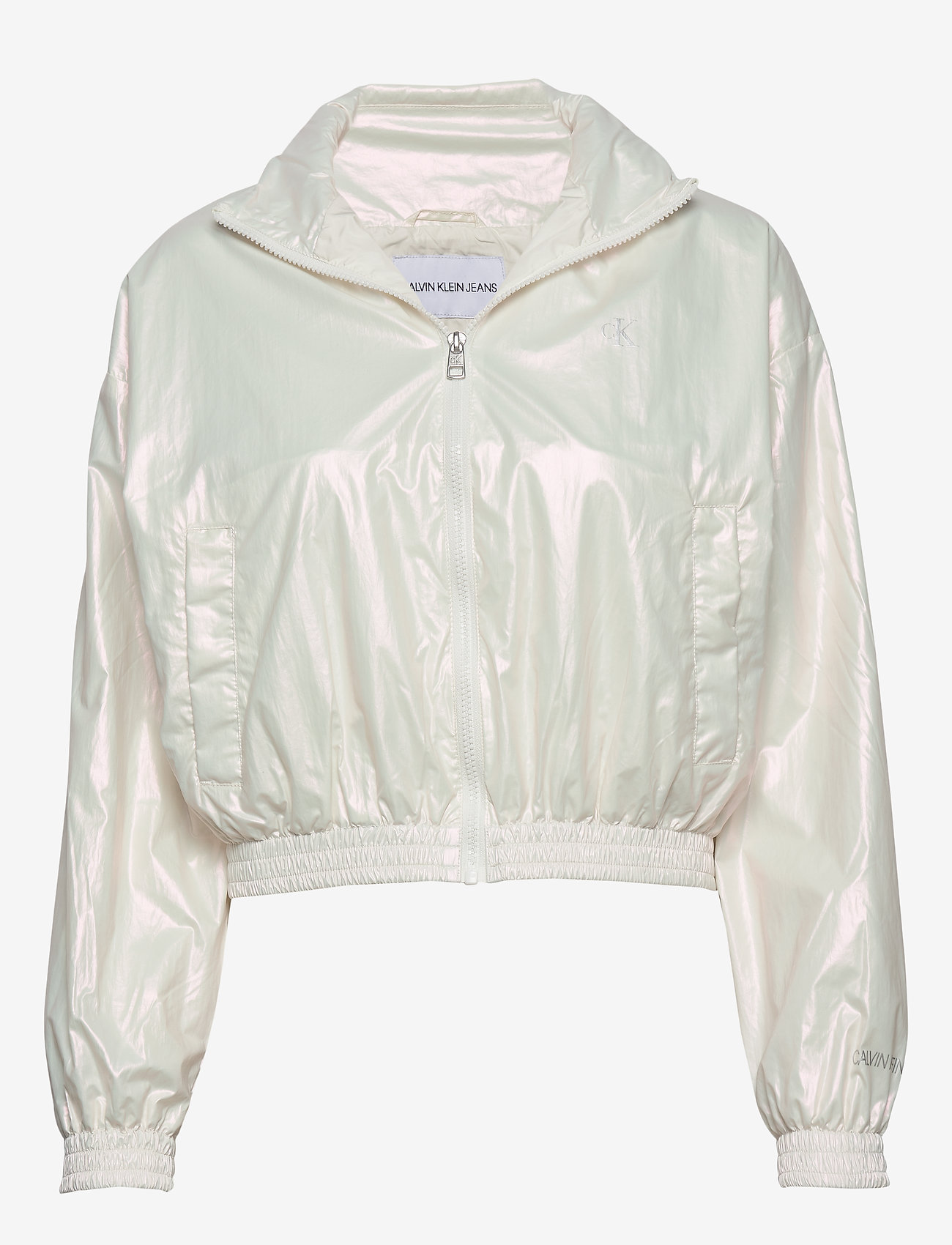 Calvin Klein Jeans - IRIDESCENT WINDBREAK - lichte jassen - iridescent white - 0