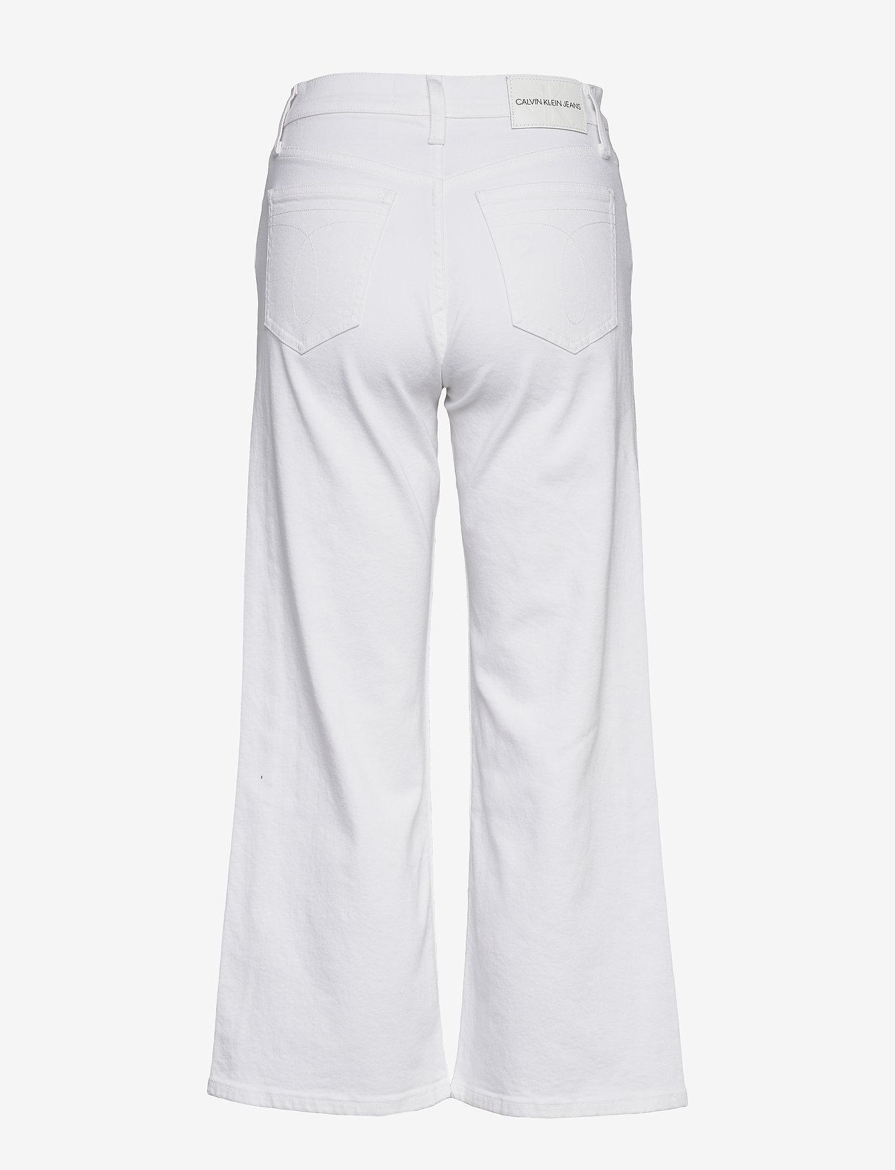 Calvin Klein Jeans - WIDE LEG - flared jeans - da085 white - 1