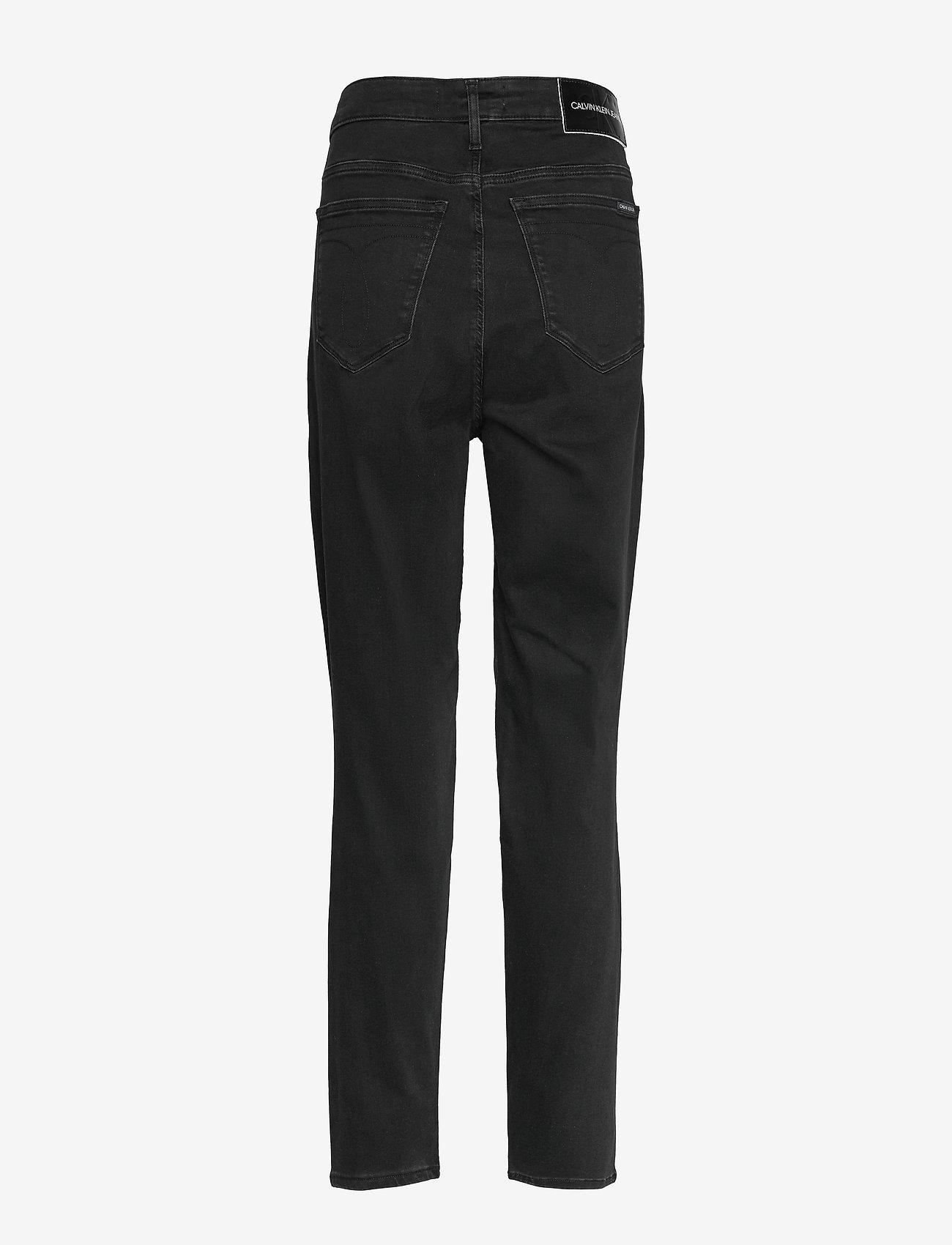 Plus High Rise Skinny (Ca121 Denim Black) - Calvin Klein Jeans vNEZyZ