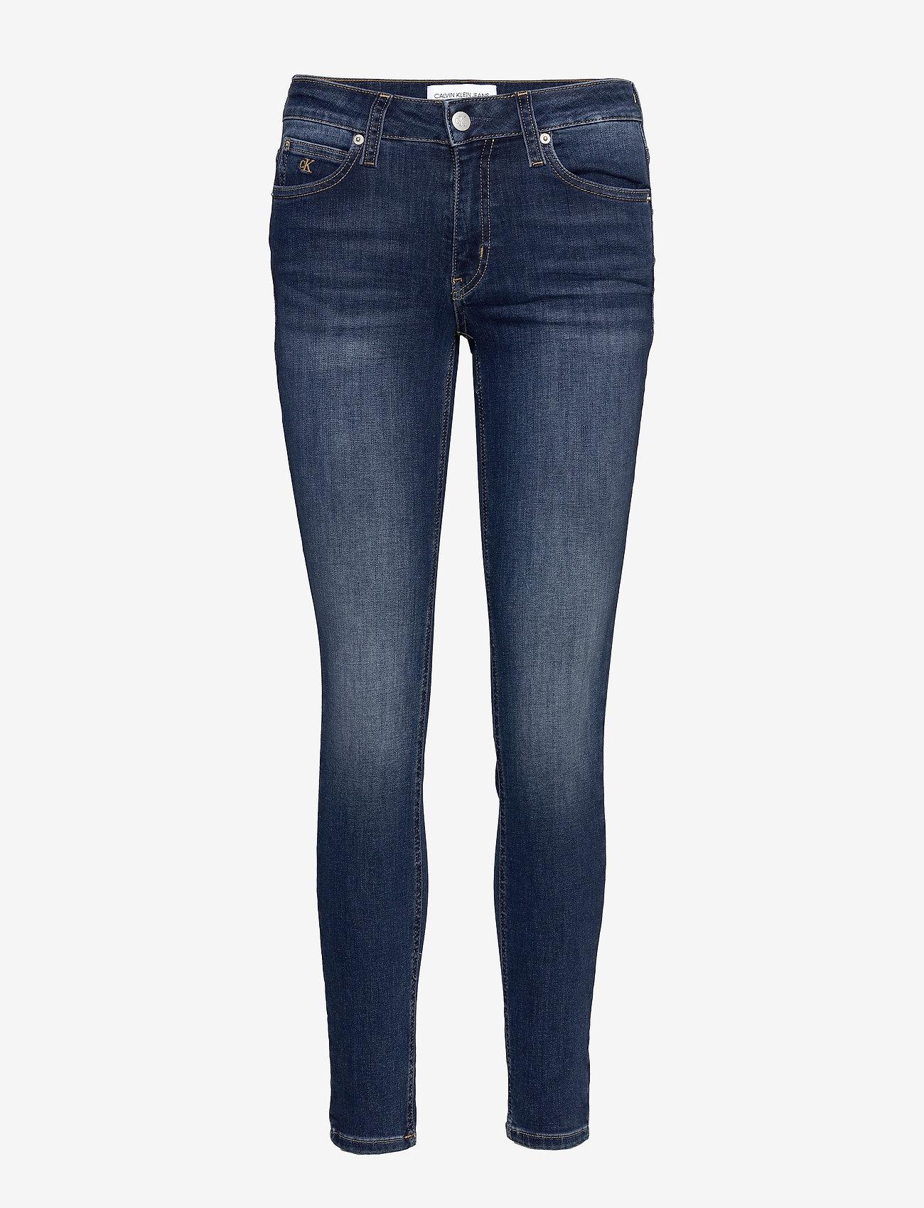 Calvin Klein Jeans - CKJ 011 MID RISE SKINNY - skinny jeans - zz001 mid blue - 0