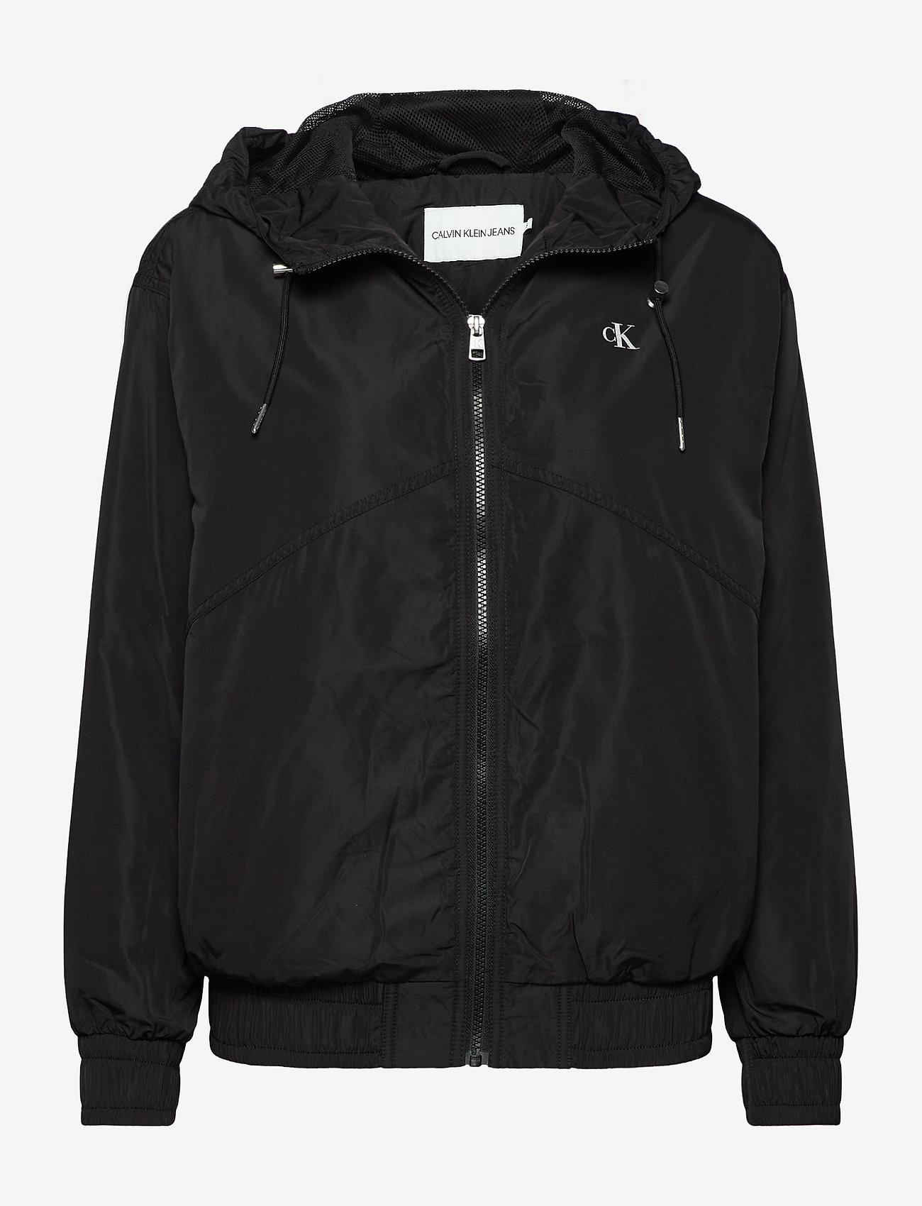 Calvin Klein Jeans - METALLIC WINDBREAKER - lichte jassen - ck black - 0