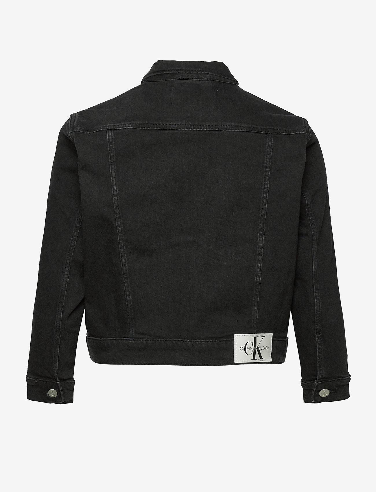 Calvin Klein Jeans - 90S TRUCKER - jeansjakker - ab099 washed black - 1