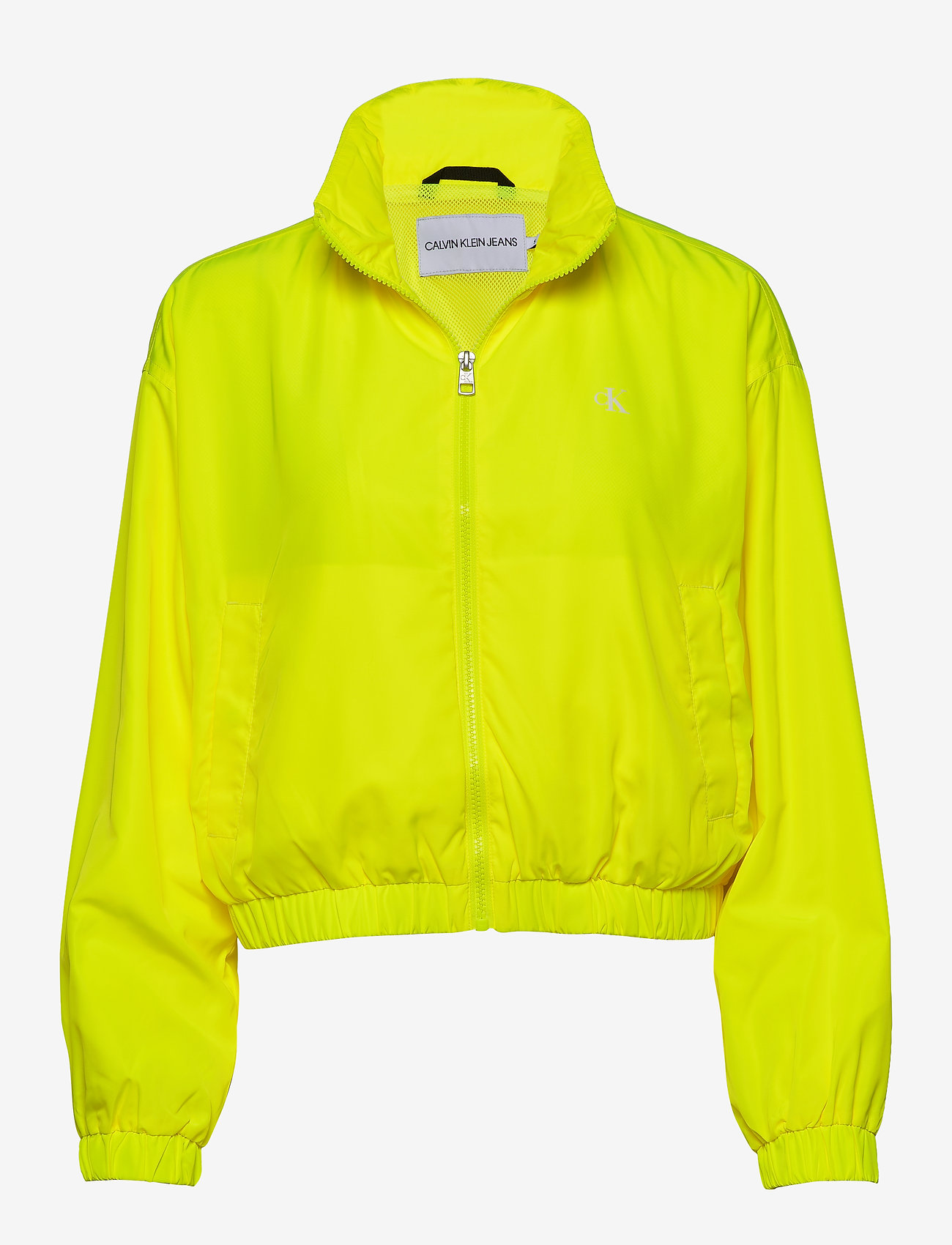 Calvin Klein Jeans - BACK LOGO WINDBREAKER - lichte jassen - safety yellow - 0