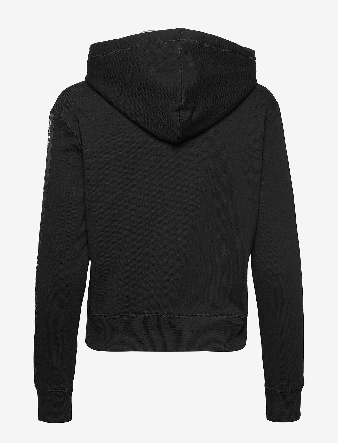 Calvin Klein Jeans - SMALL FLAG BOX - hettegensere - ck black