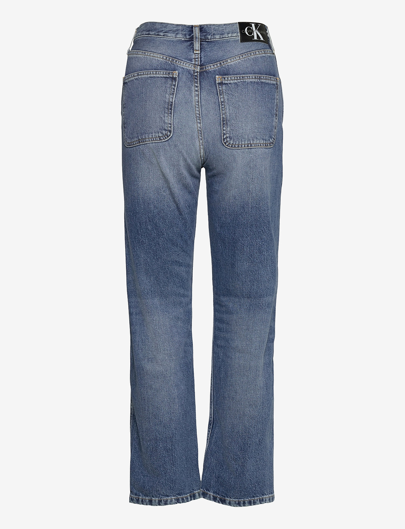 Calvin Klein Jeans - CKJ 030 HIGH RISE STRAIGHT ANKLE - straight jeans - bb047 - icn light blue utility - 1