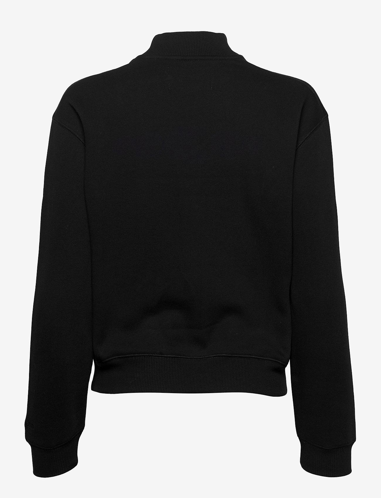 Calvin Klein Jeans - CK ECO CN - sweatshirts - ck black / soft cream - 1