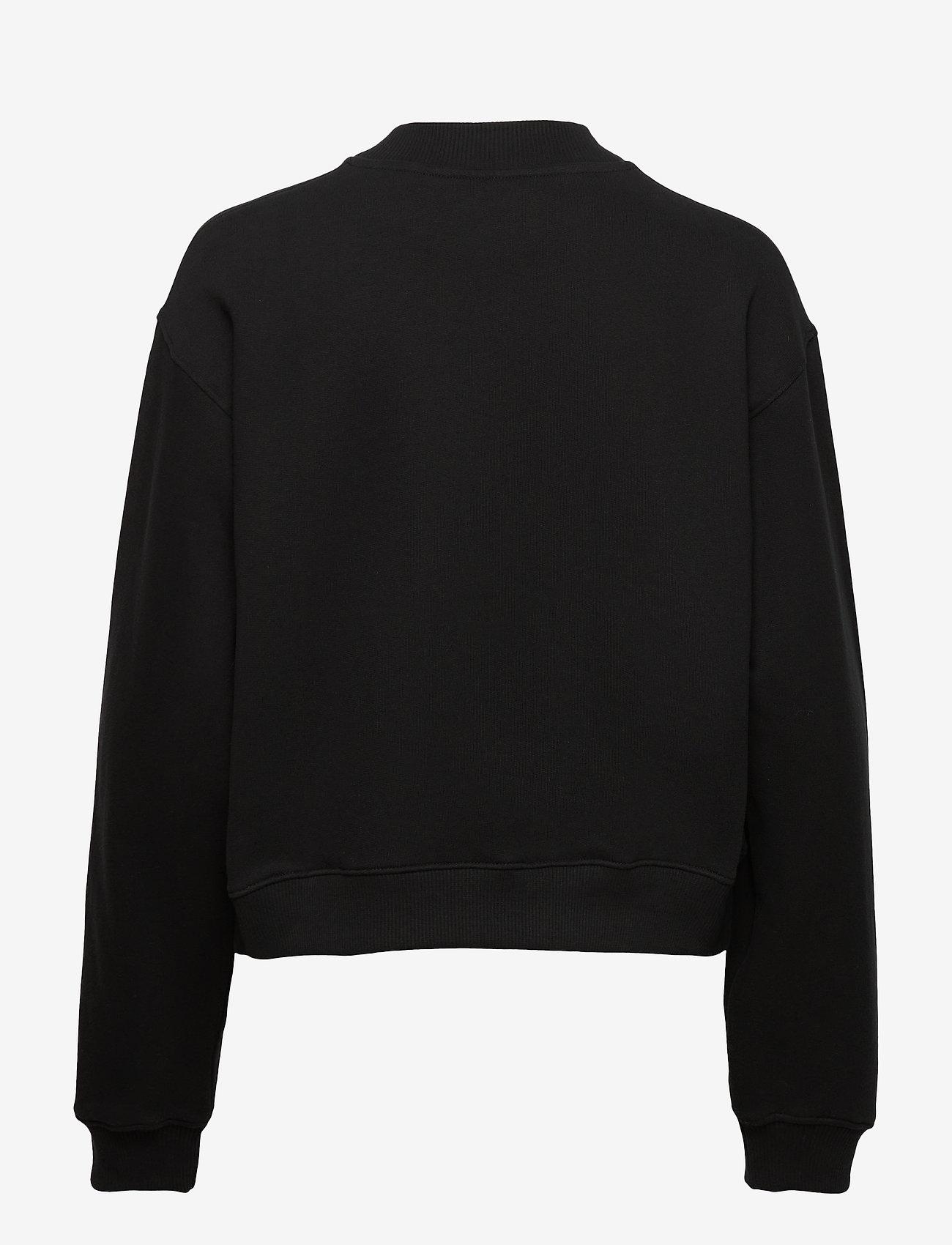 Calvin Klein Jeans - GOLD MONOGRAM SWEATSHIRT - gensere og hettegensere - ck black - 1