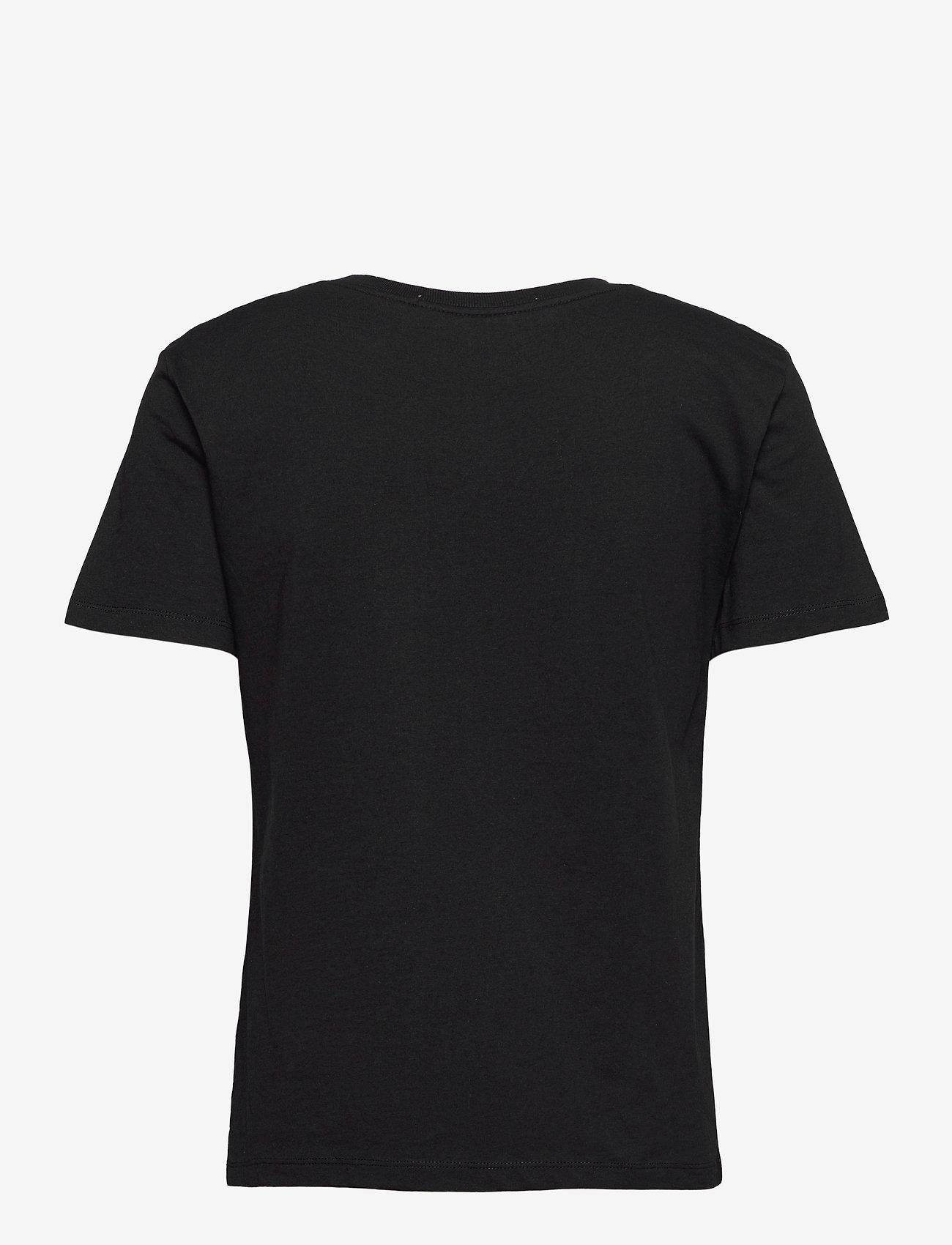 Calvin Klein Jeans - REFLECTIVE MONOGRAM TEE - t-shirts - ck black - 1