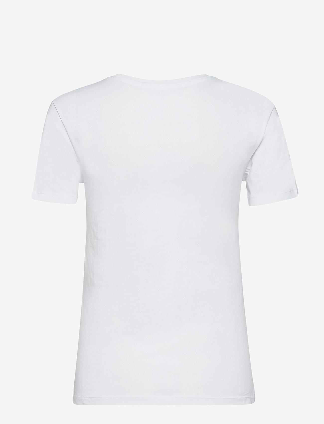 Calvin Klein Jeans - GOLD MONOGRAM TEE - t-shirts - bright white - 1