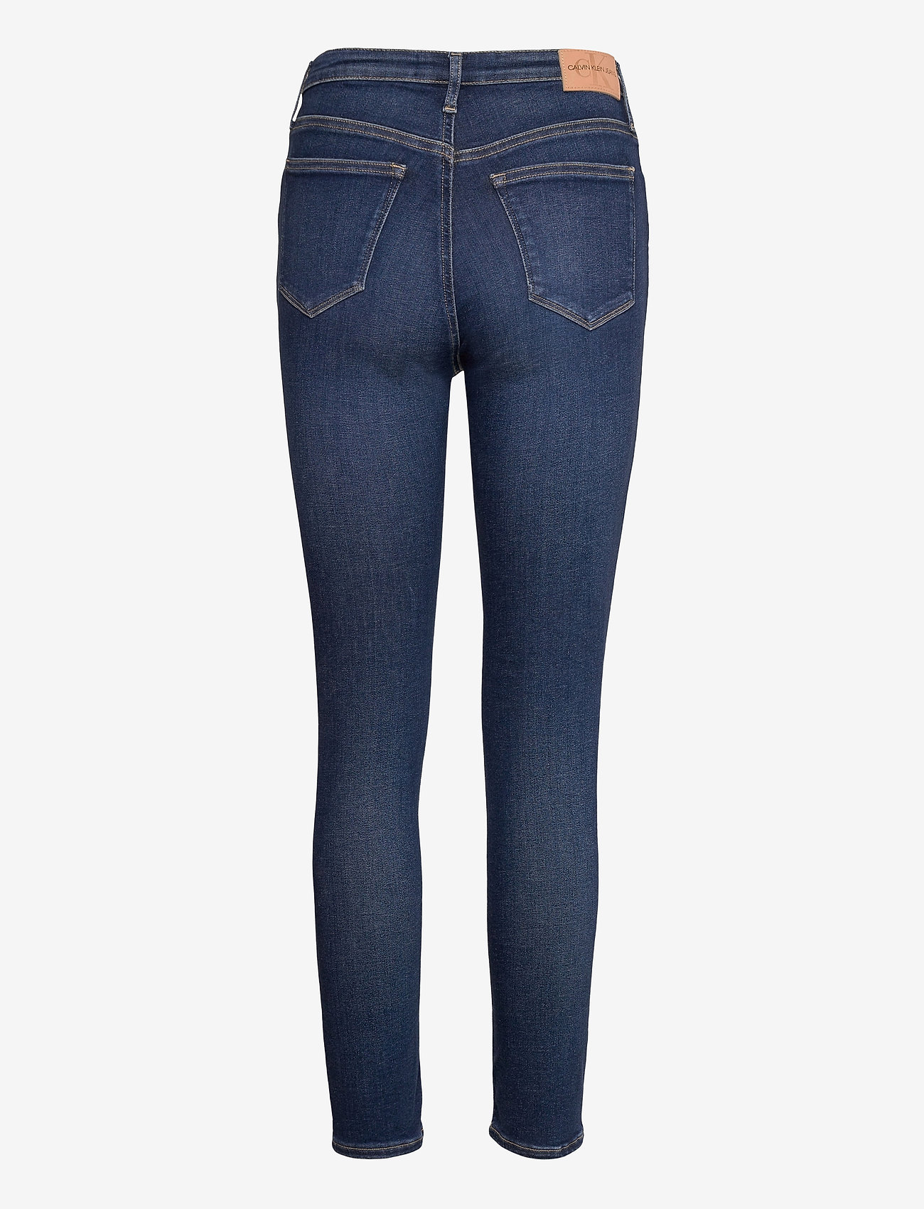 Calvin Klein Jeans - HIGH RISE SKINNY - skinny jeans - denim dark - 1