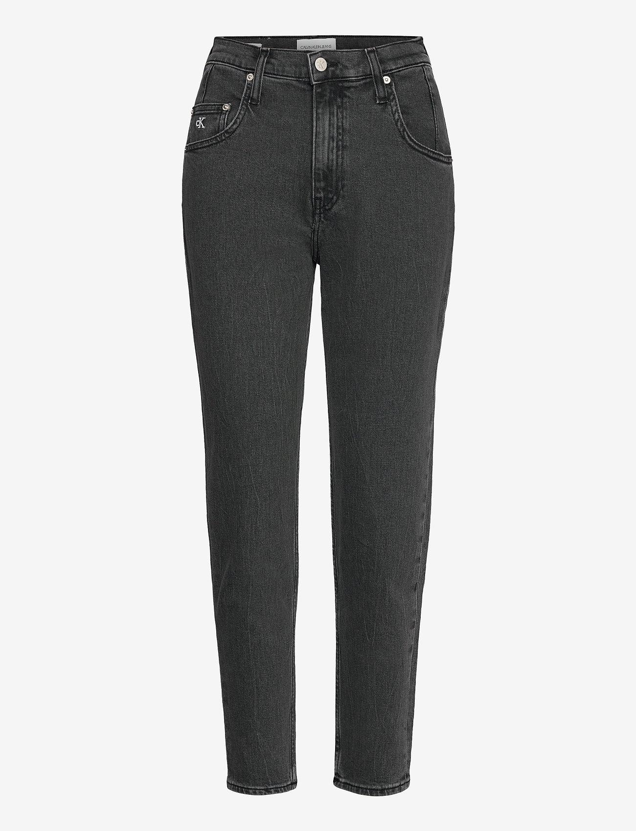 Calvin Klein Jeans - MOM JEAN - mom-jeans - denim black - 0
