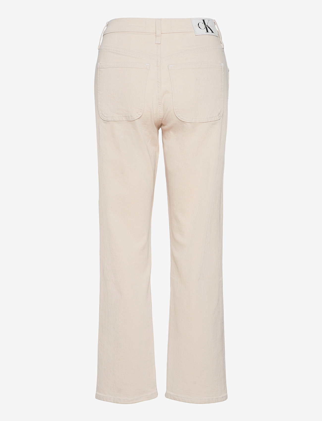 Calvin Klein Jeans - HIGH RISE STRAIGHT ANKLE - straight jeans - denim light - 1