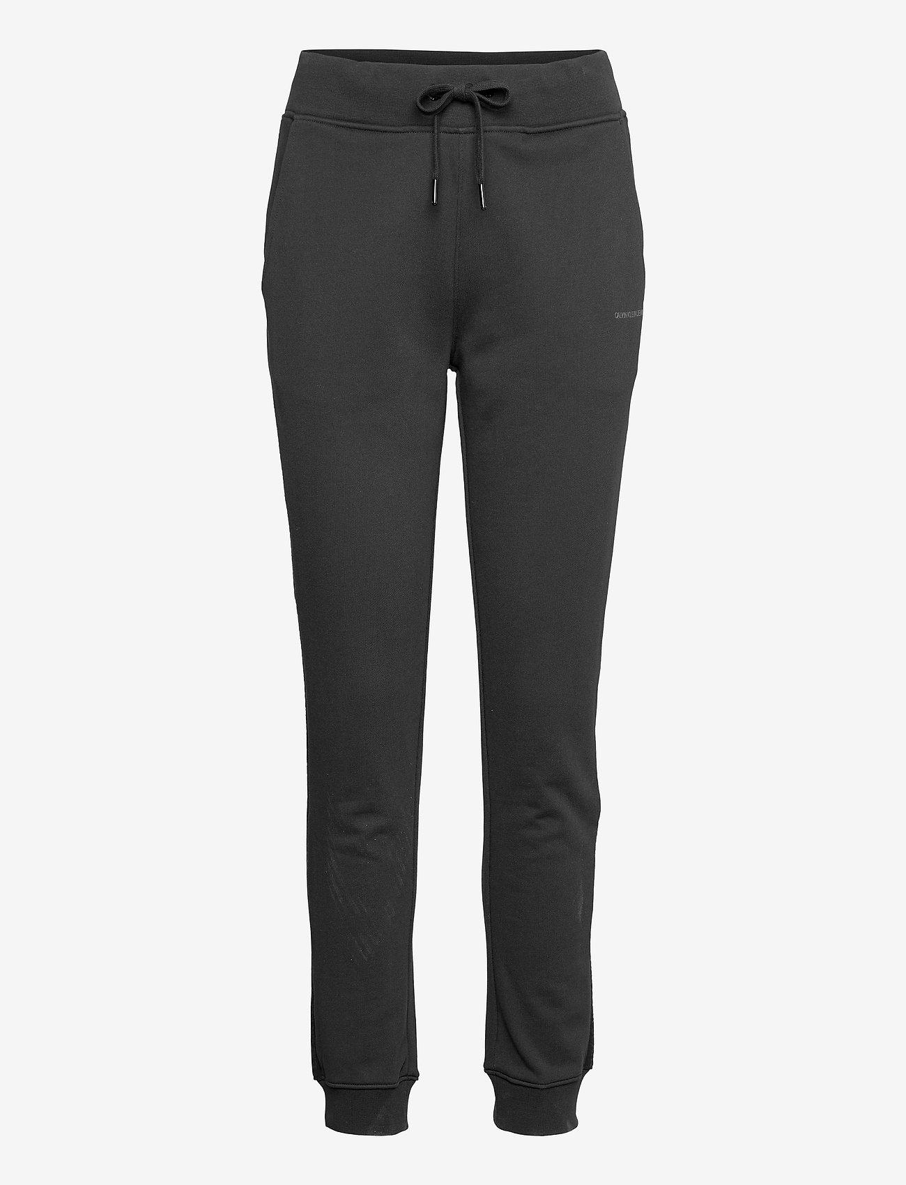 Calvin Klein Jeans - LOGO TRIM JOGGING PANT - klær - ck black - 0