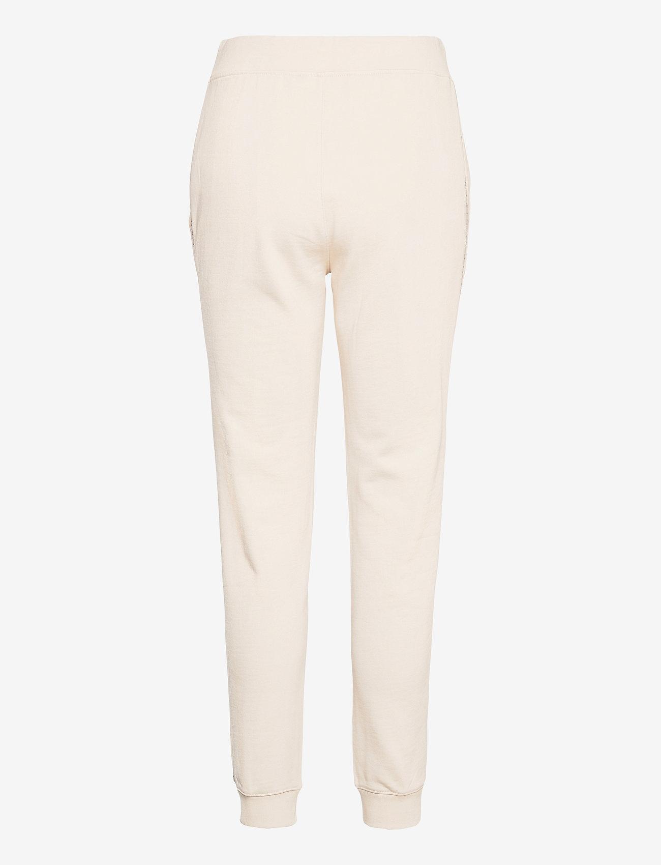Calvin Klein Jeans - LOGO TRIM JOGGING PANT - klær - white sand - 1