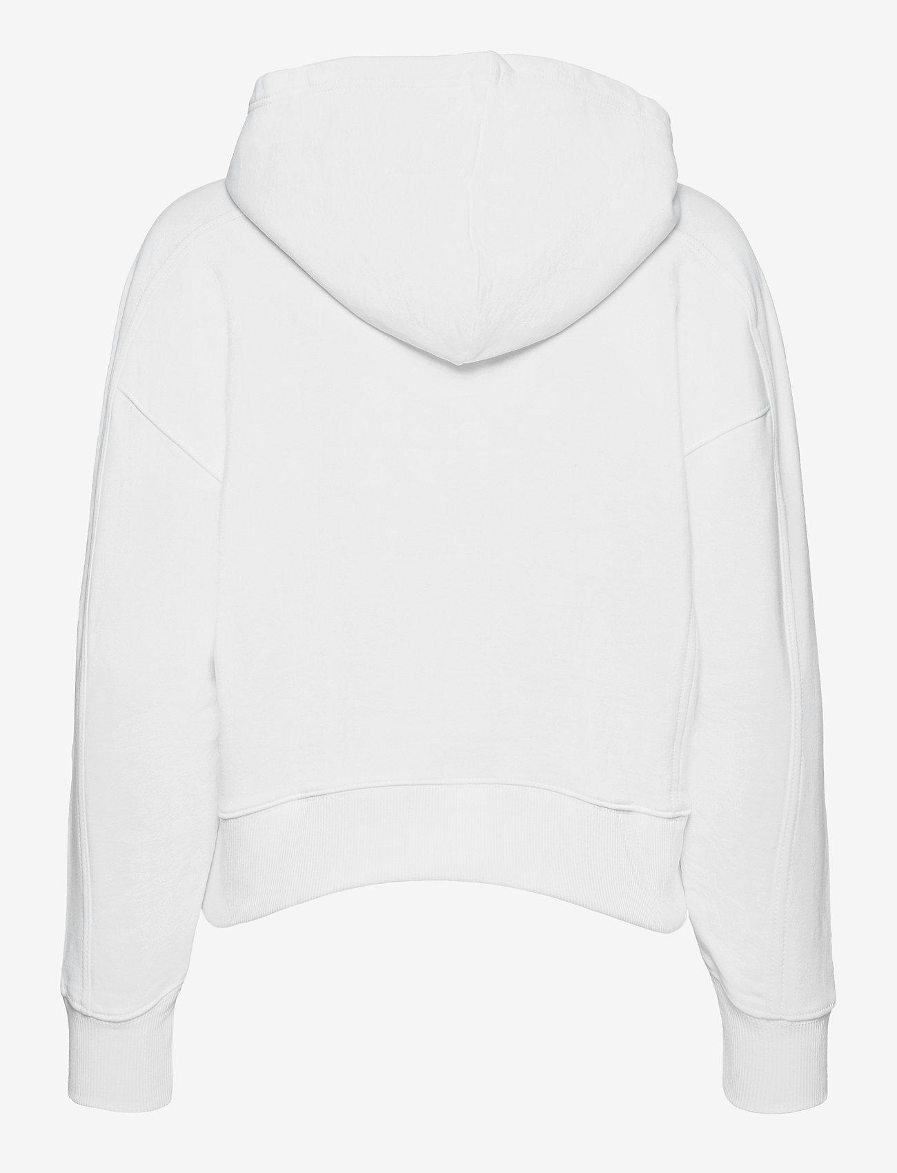 Calvin Klein Jeans - MICRO BRANDING HOODIE - hettegensere - bright white - 1