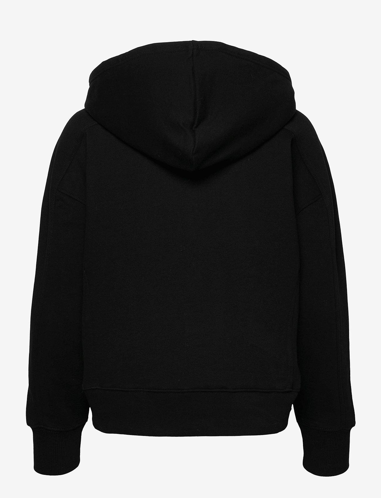Calvin Klein Jeans - MICRO BRANDING HOODIE - gensere og hettegensere - ck black - 1
