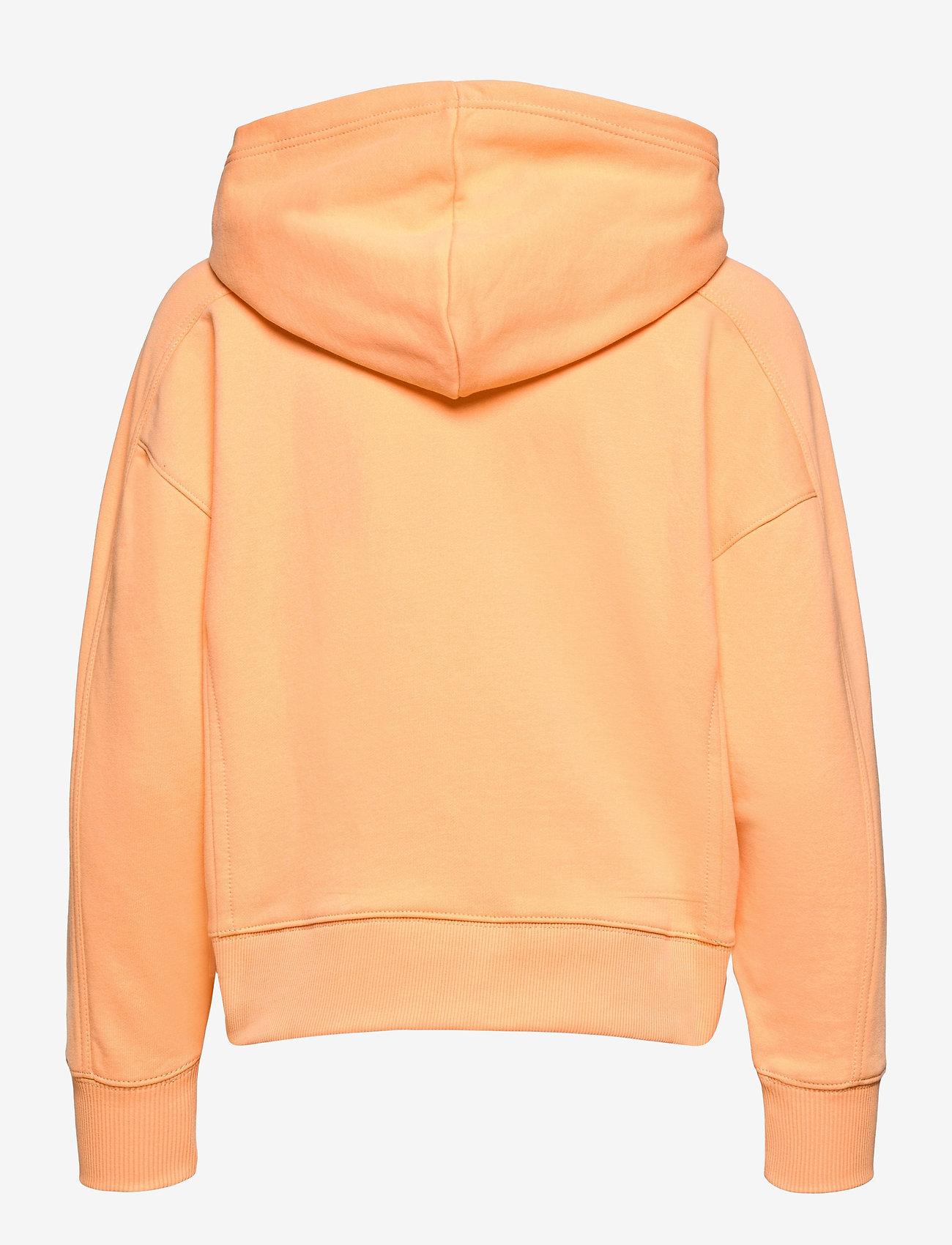 Calvin Klein Jeans - MICRO BRANDING HOODIE - gensere og hettegensere - crushed orange - 1