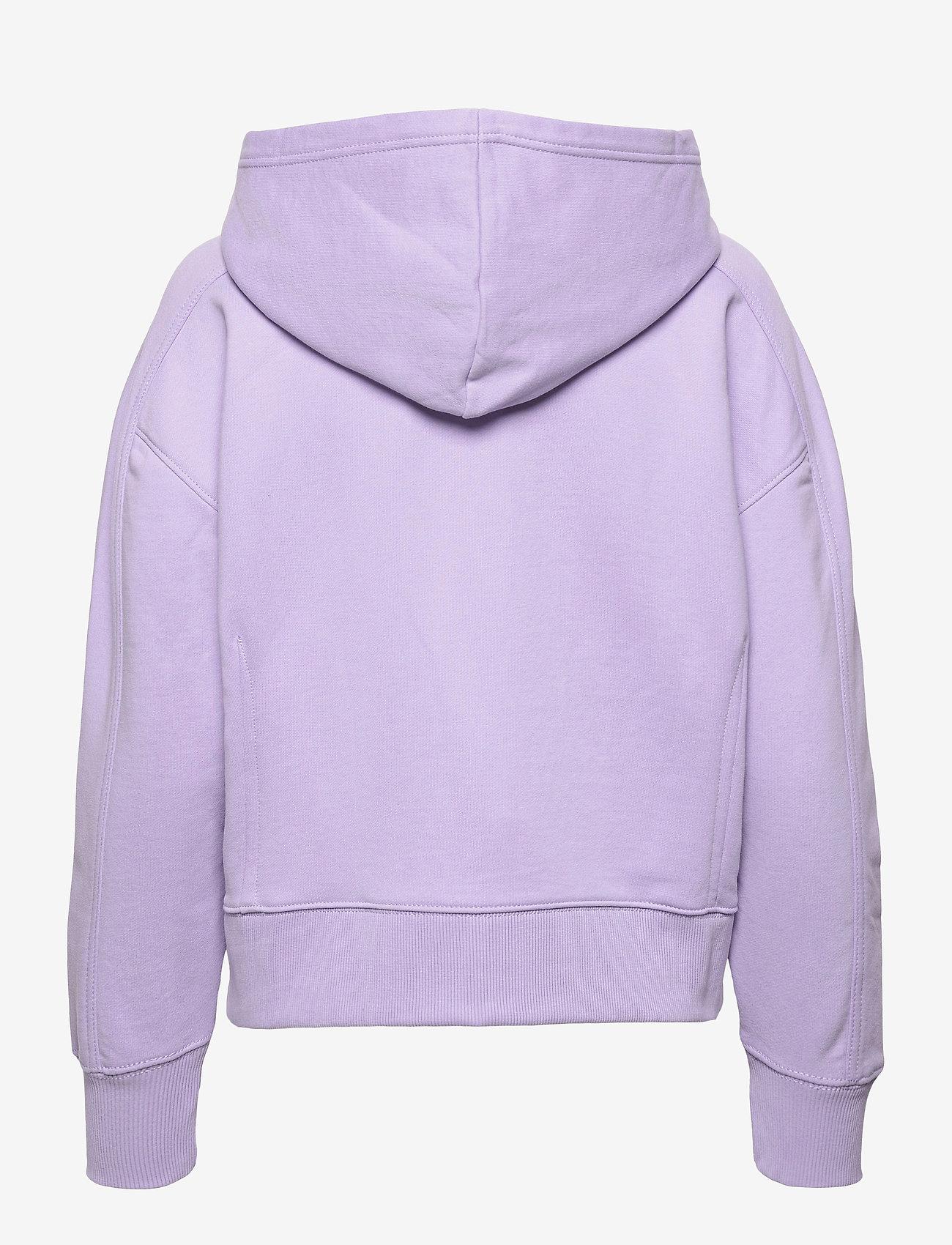 Calvin Klein Jeans - MICRO BRANDING HOODIE - hettegensere - palma lilac - 1