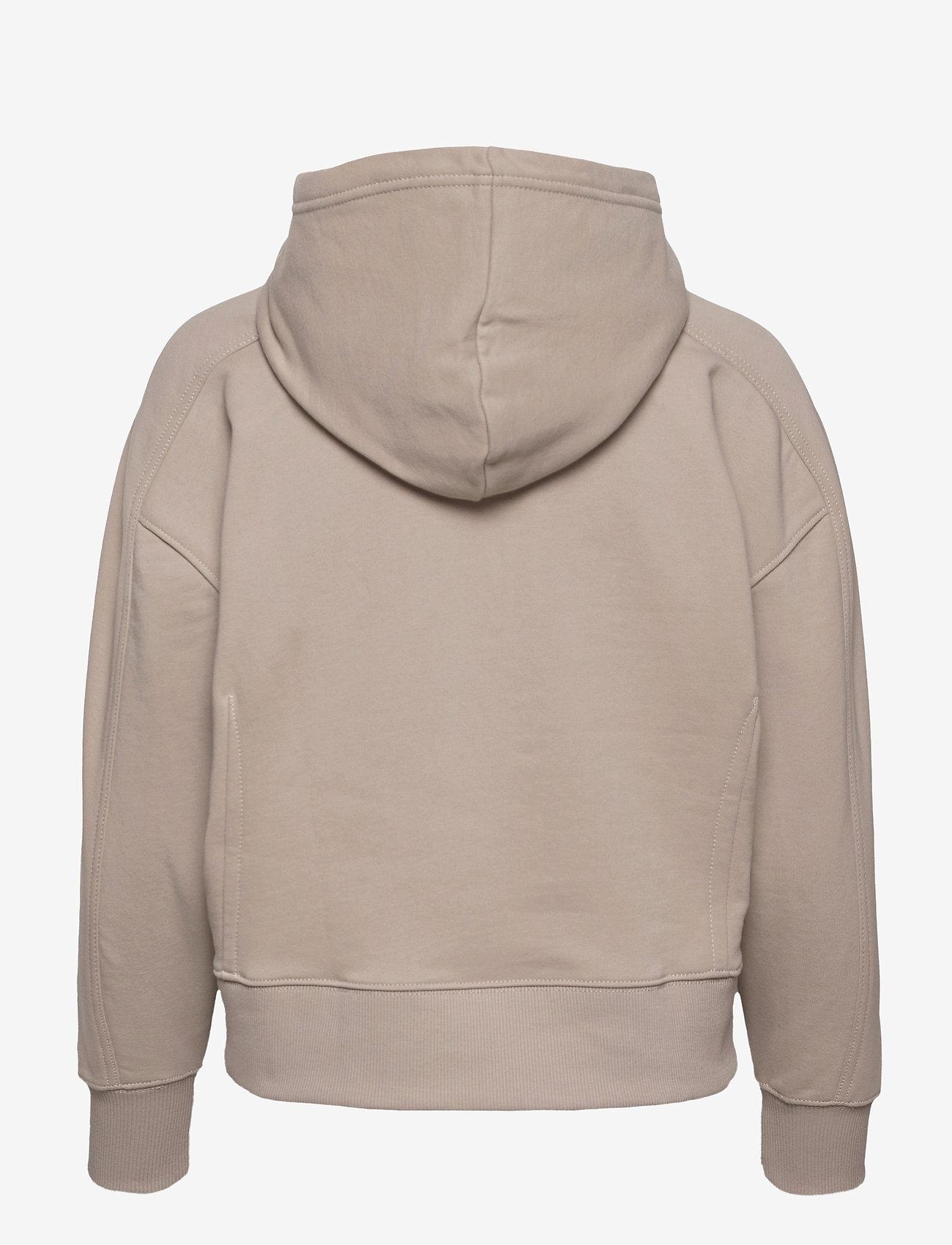 Calvin Klein Jeans - MICRO BRANDING HOODIE - gensere og hettegensere - string - 1
