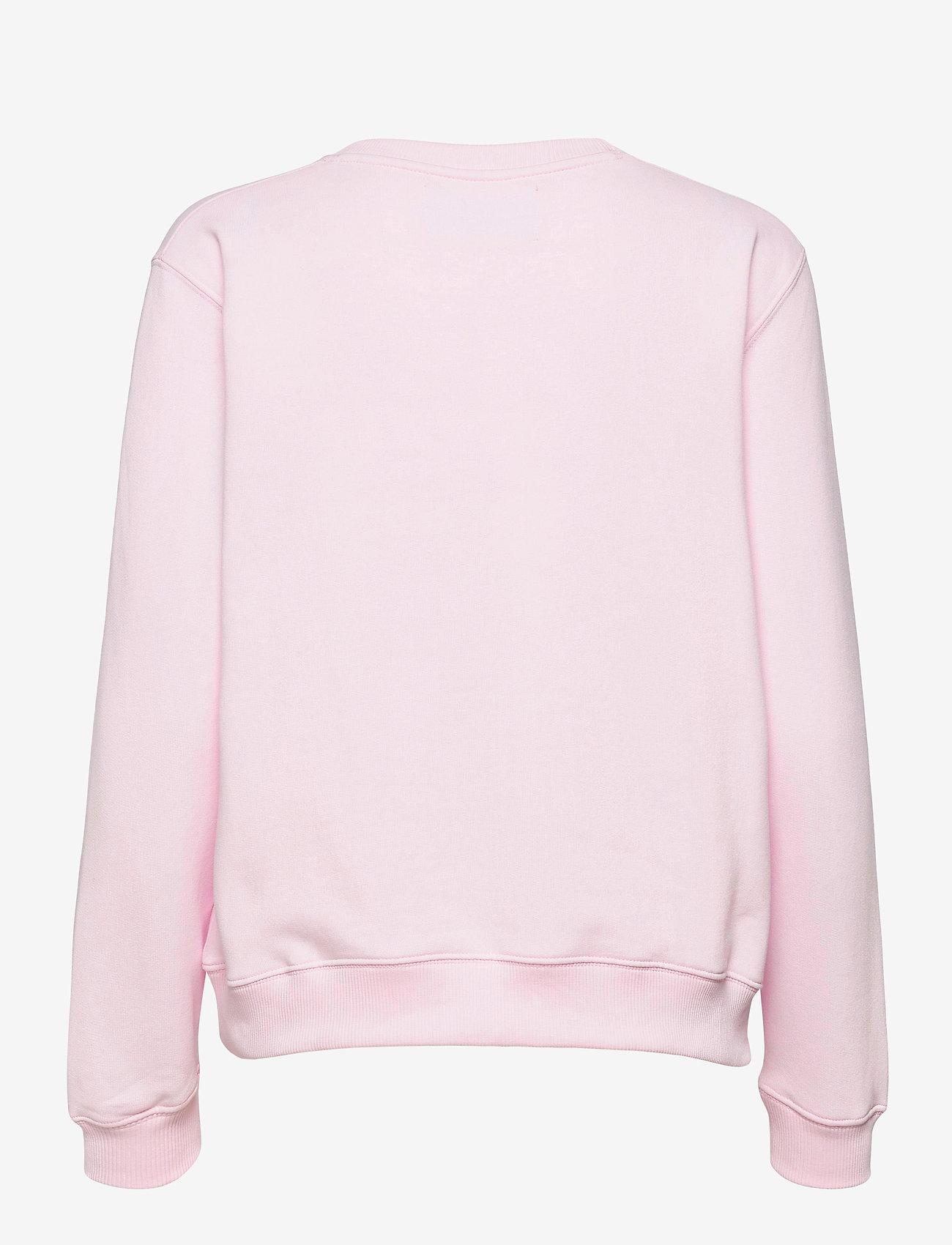 Calvin Klein Jeans - MONOGRAM LOGO CREW NECK - sweatshirts - pearly pink/quiet grey - 1