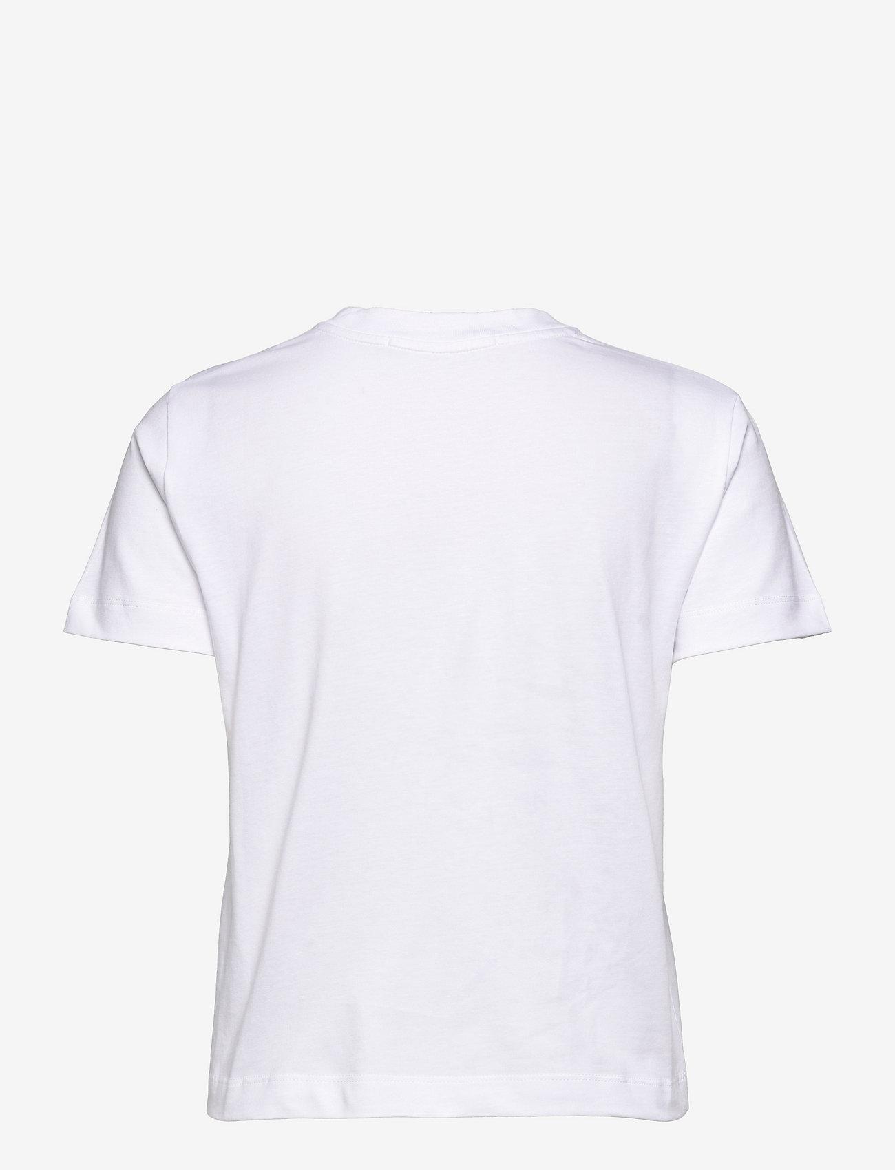 Calvin Klein Jeans - MULTICOLORED LOGO TEE - t-shirts - bright white - 1