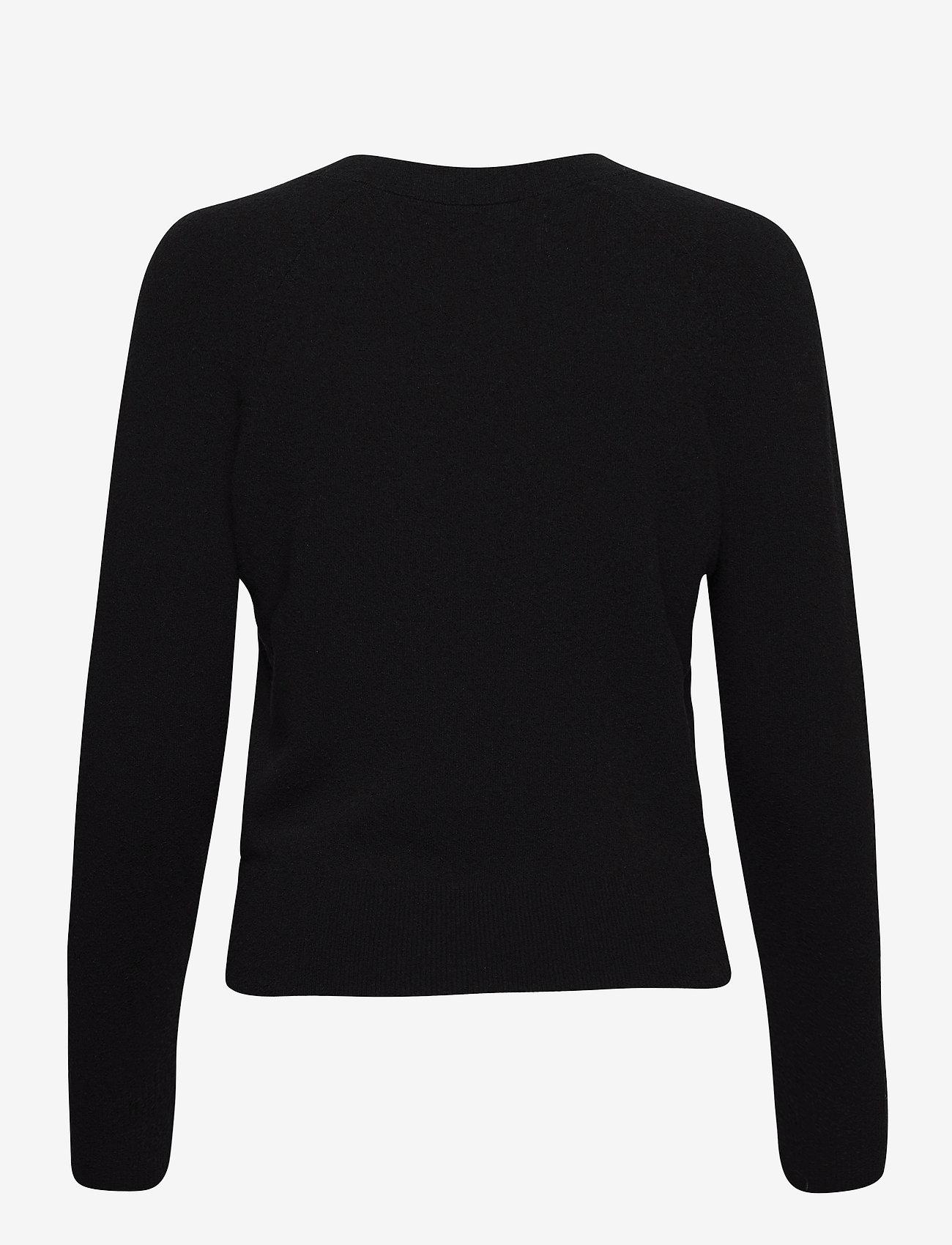 Calvin Klein Jeans - NECK LOGO FLUFFY SWEATER - gensere - ck black - 1