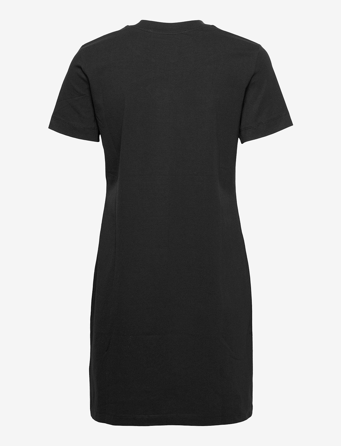 Calvin Klein Jeans - MICRO BRANDING T-SHIRT DRESS - sommerkjoler - ck black - 1